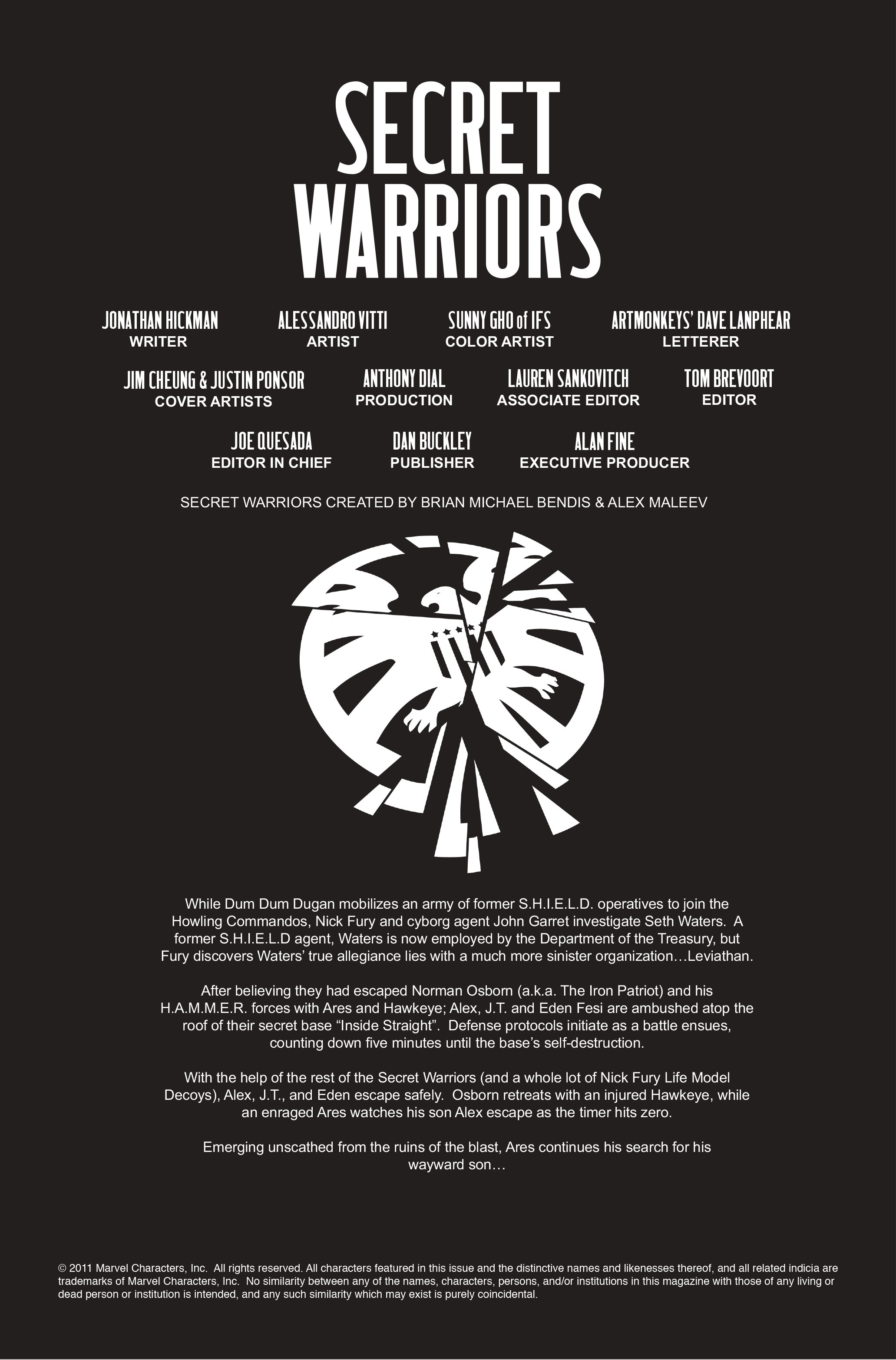 Read online Secret Warriors comic -  Issue #10 - 3