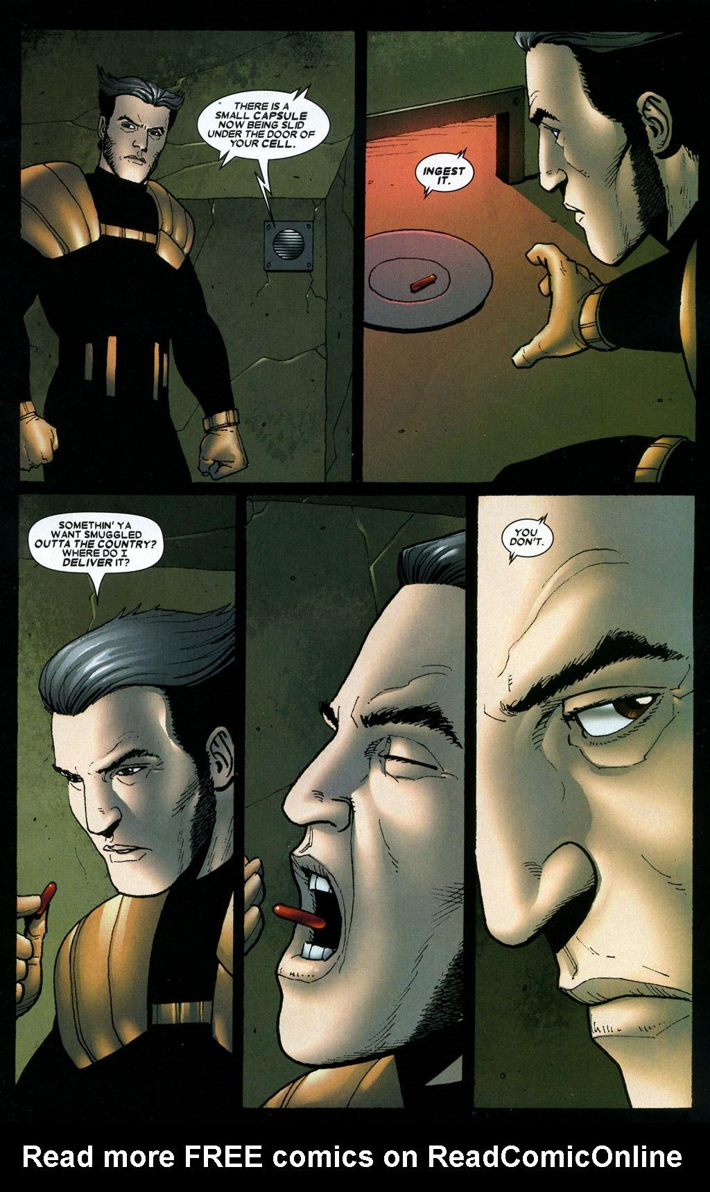Read online Wolverine: Origins comic -  Issue #6 - 7