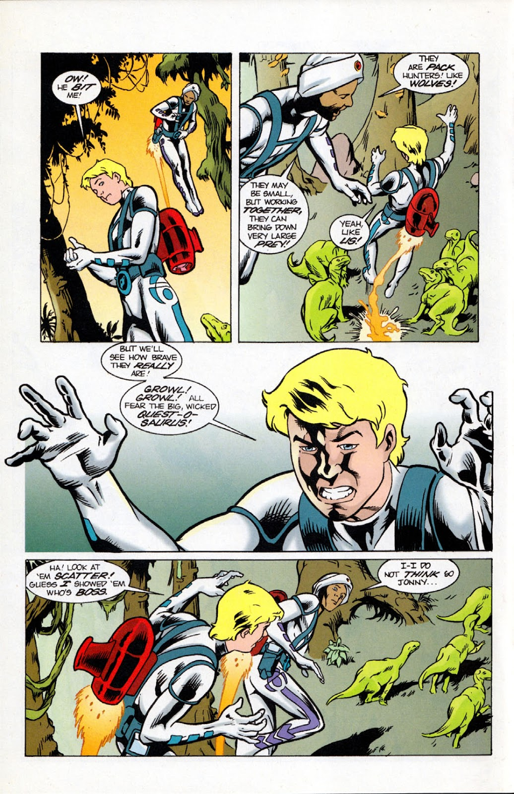 Read online The Real Adventures of Jonny Quest comic -  Issue #10 - 6