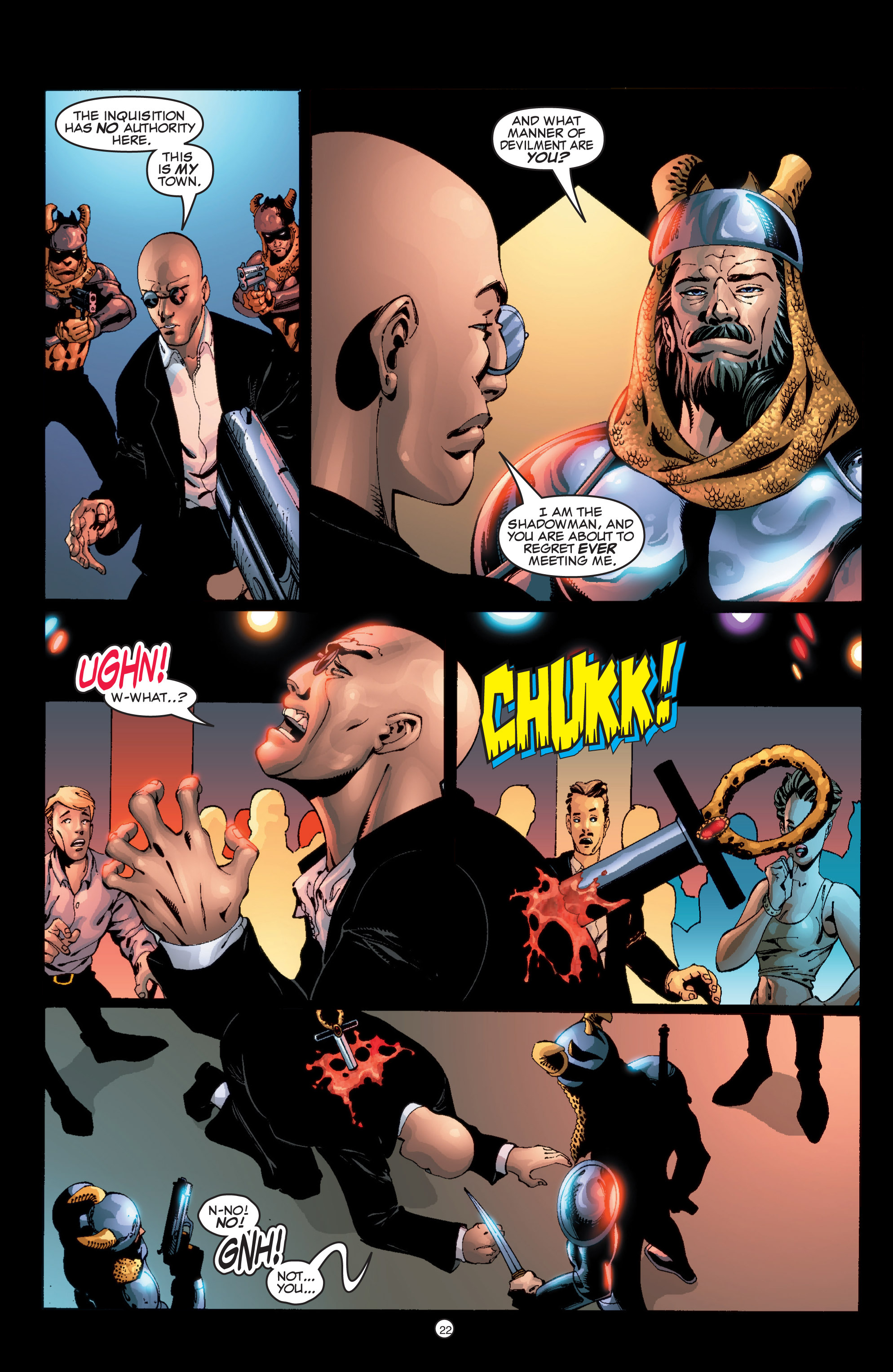 Read online Shadowman (1999) comic -  Issue #6 - 23