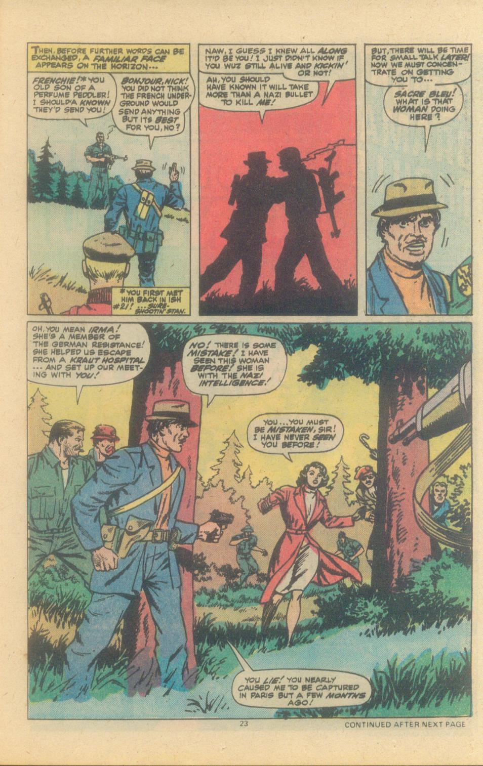 Read online Sgt. Fury comic -  Issue #150 - 25