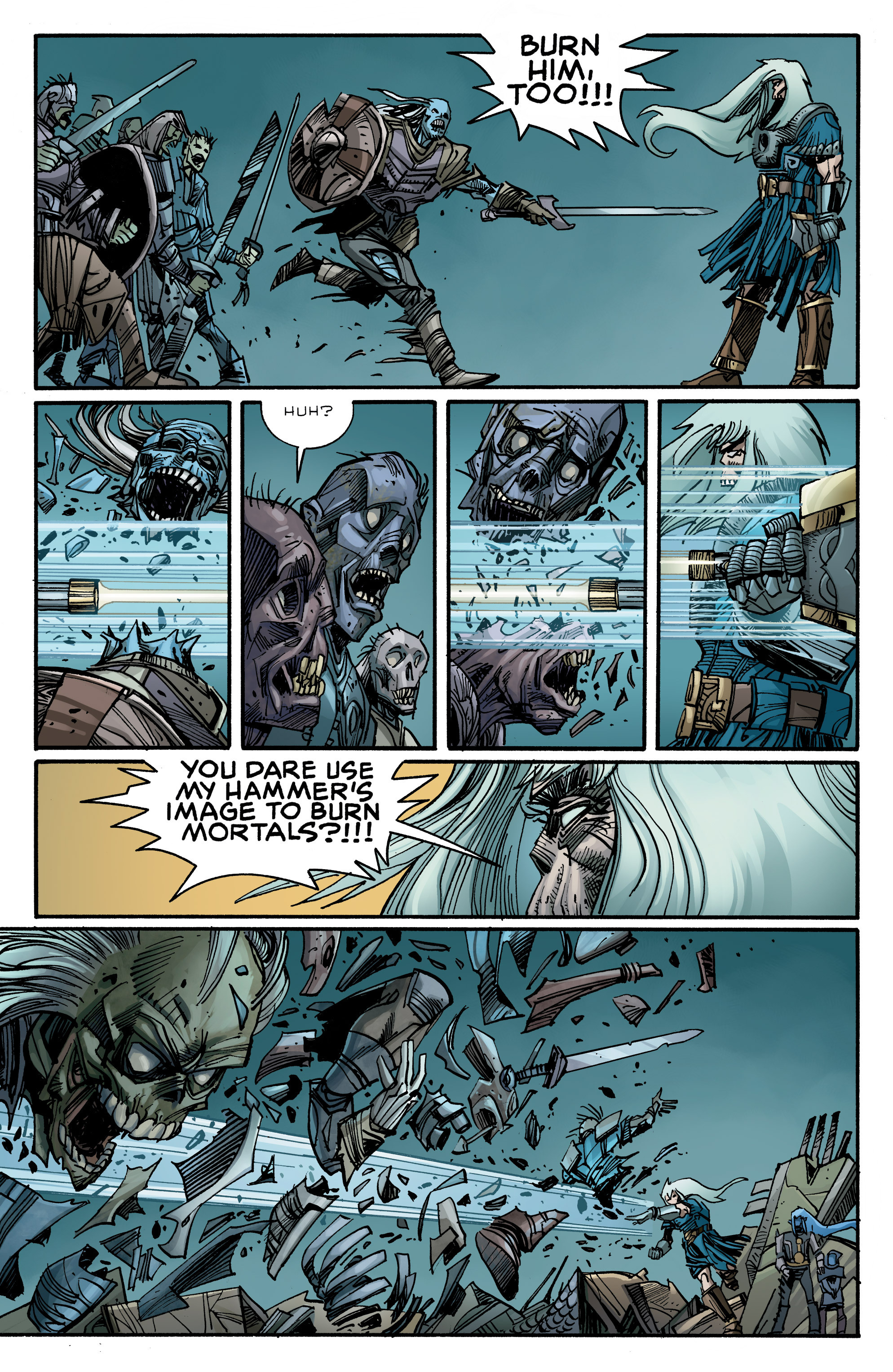 Read online Ragnarok comic -  Issue #10 - 16