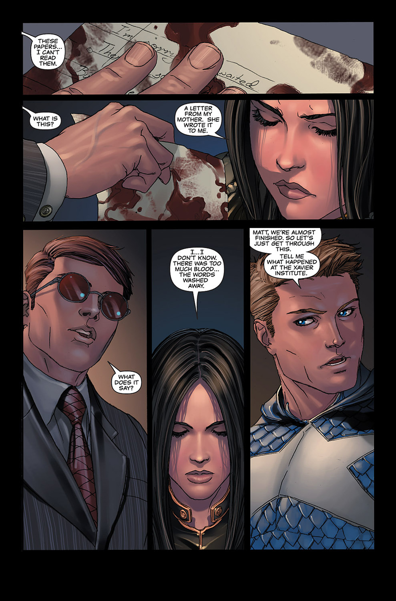 Read online X-23: Target X comic -  Issue #6 - 3
