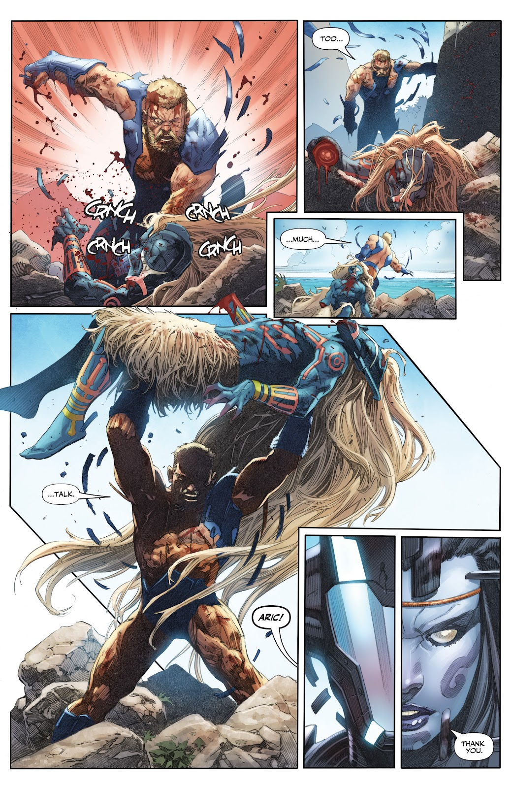 Read online X-O Manowar (2017) comic -  Issue #25 - 13