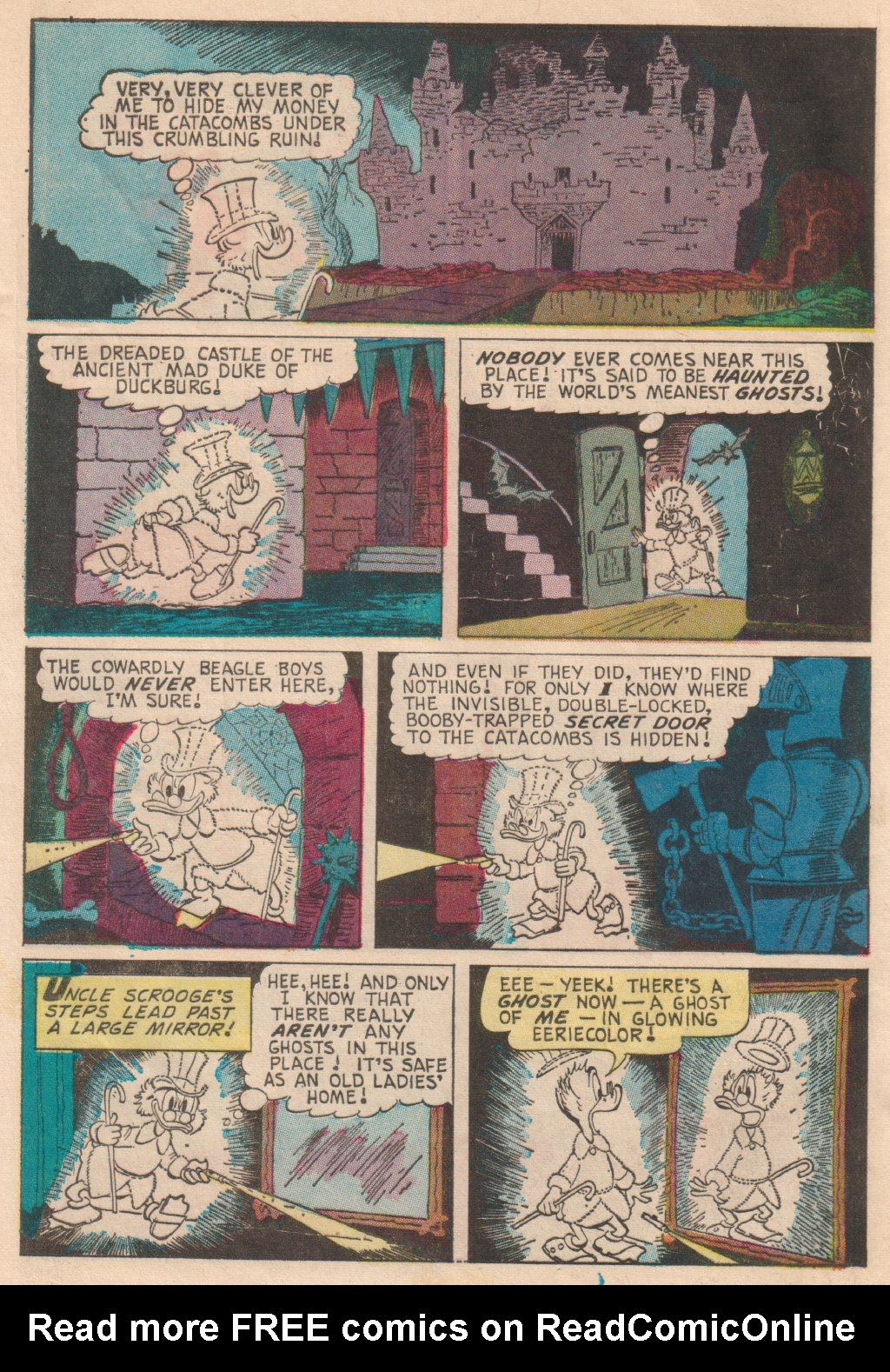 Read online Uncle Scrooge (1953) comic -  Issue #63 - 12