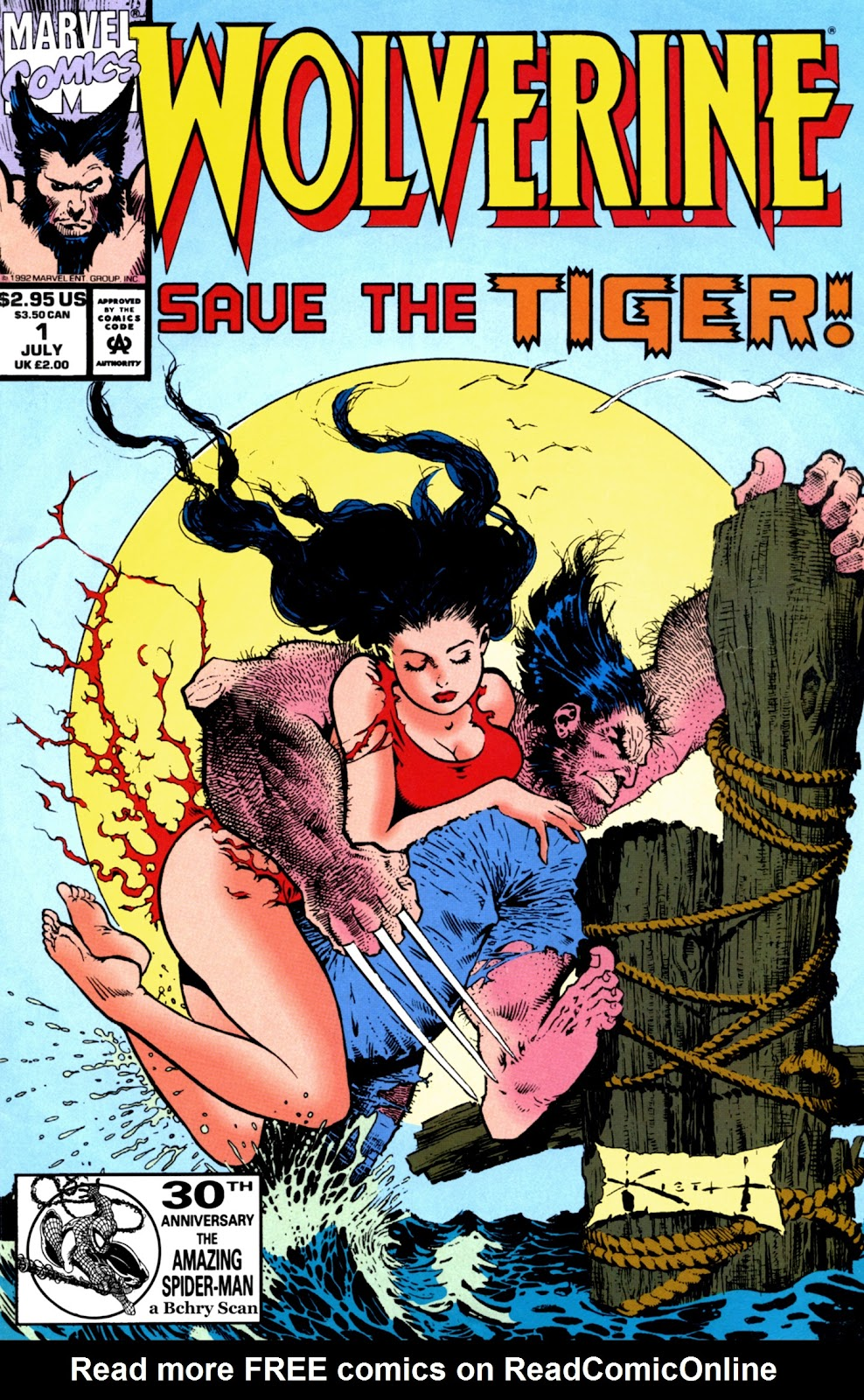 Wolverine: Save the Tiger Full Page 1