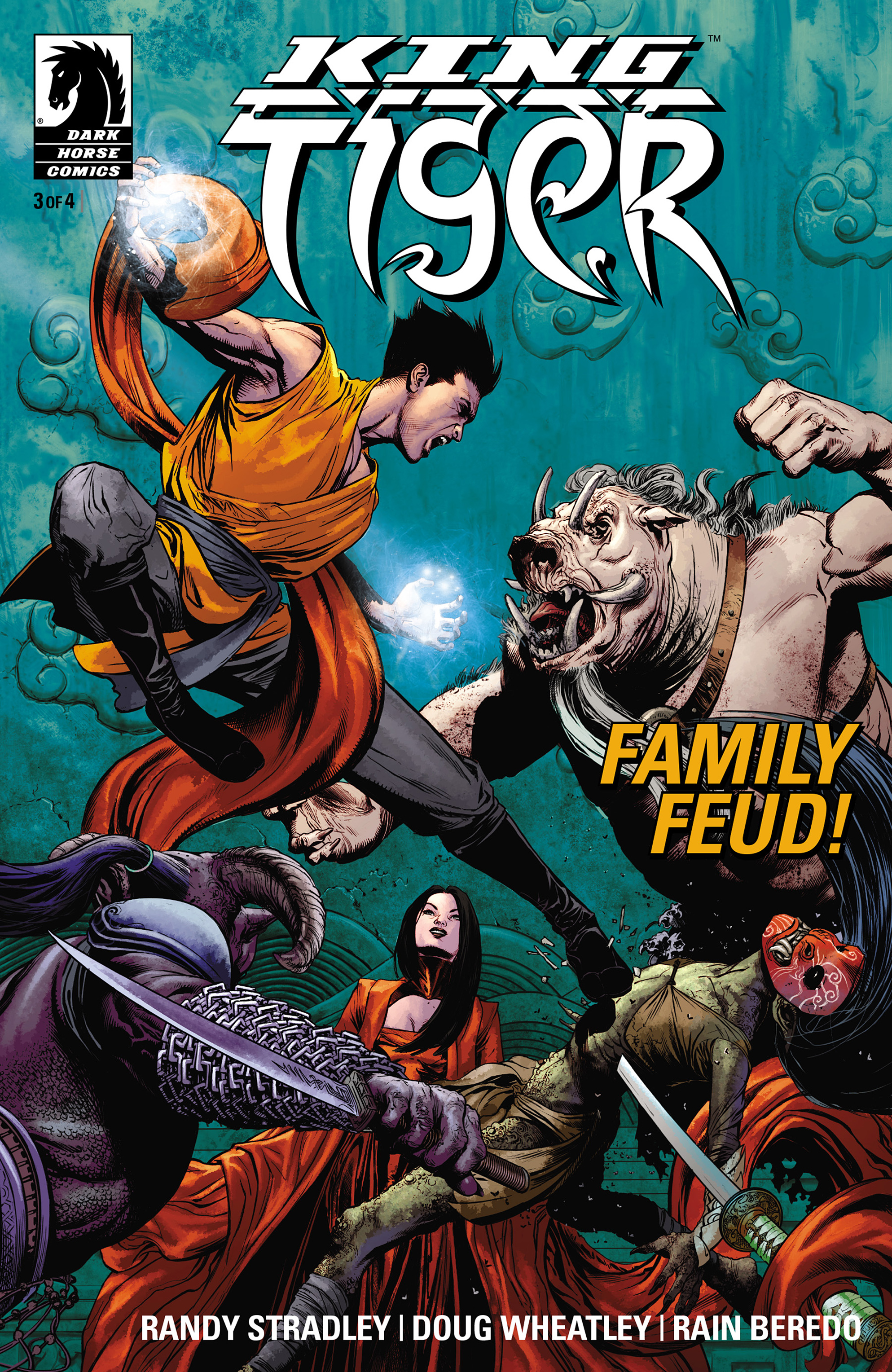 Read online King Tiger comic -  Issue #3 - 1