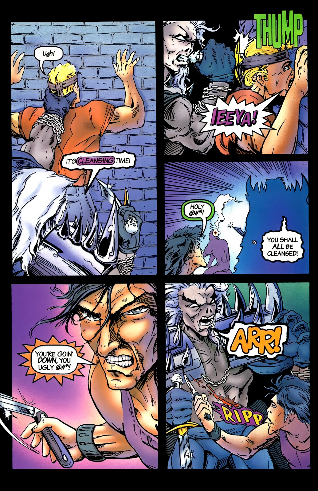 Read online Perg comic -  Issue #5 - 7