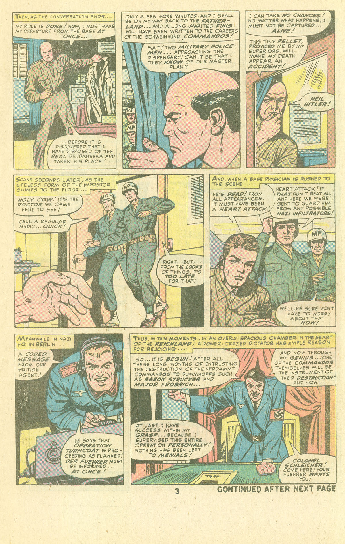Read online Sgt. Fury comic -  Issue #134 - 5