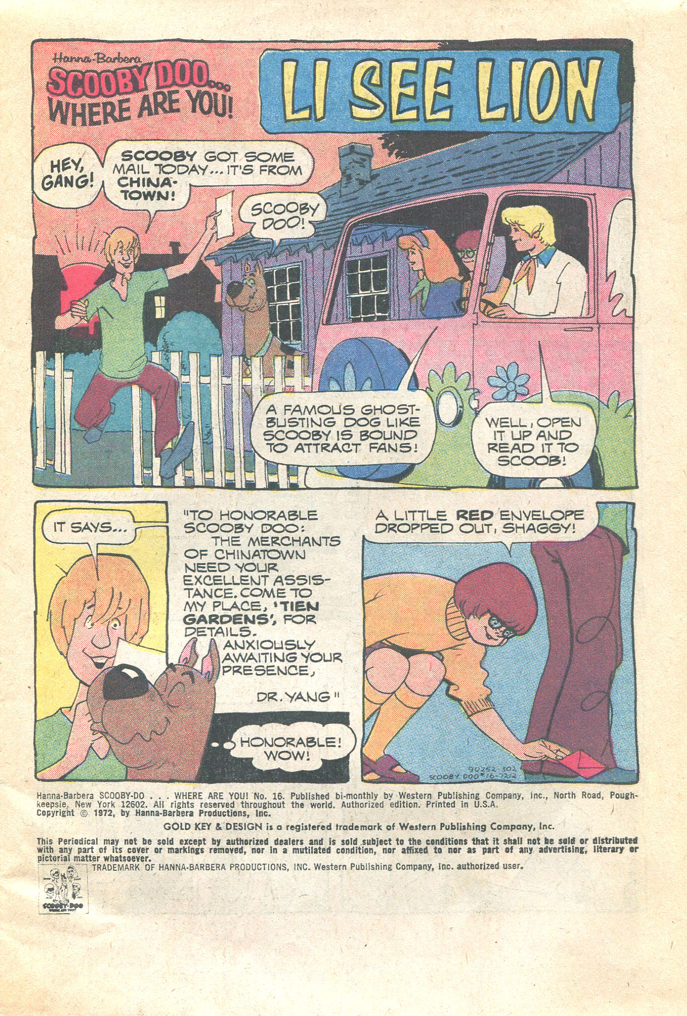 Read online Scooby-Doo... Where Are You! (1970) comic -  Issue #16 - 3
