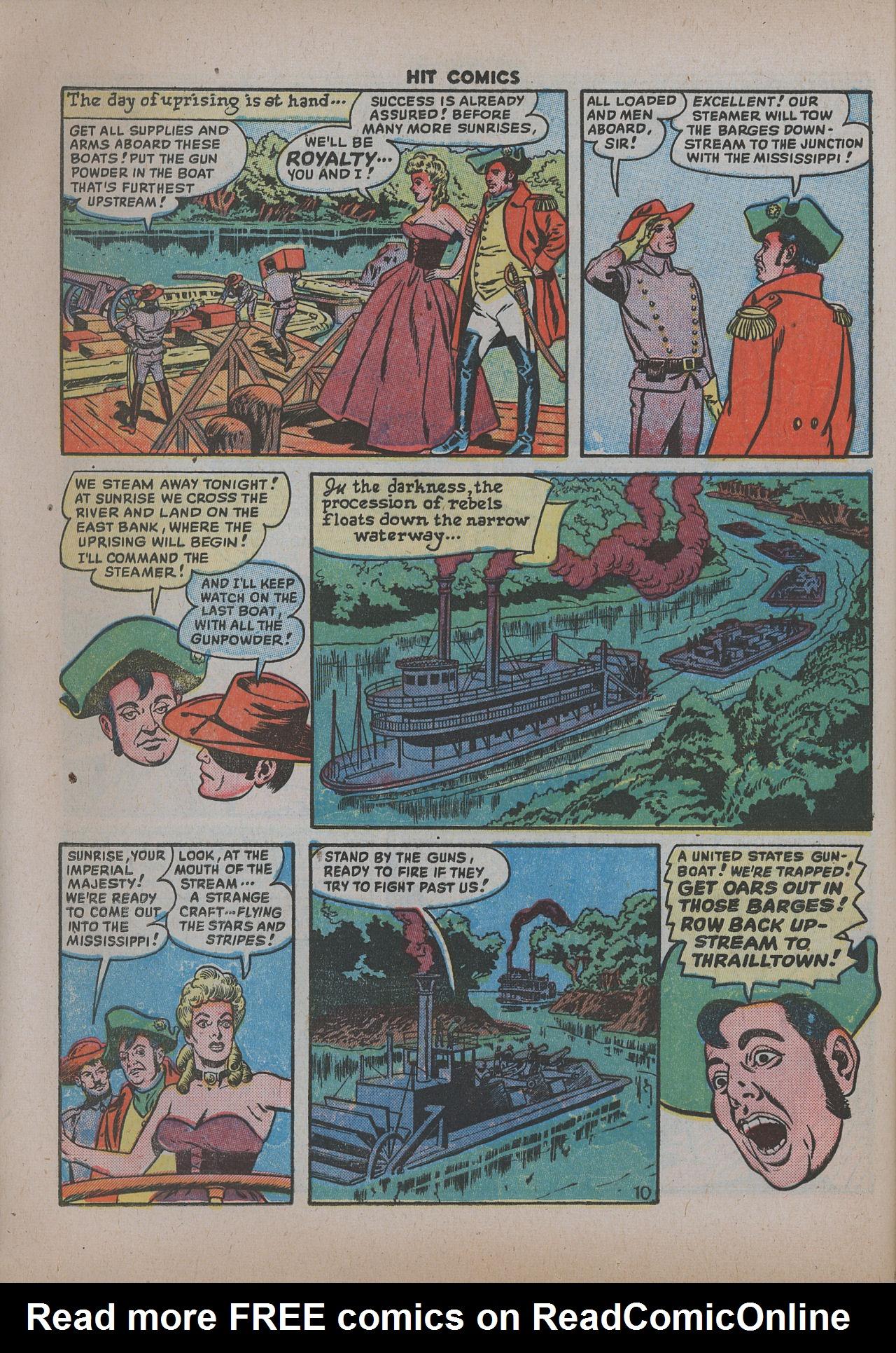 Read online Hit Comics comic -  Issue #62 - 13