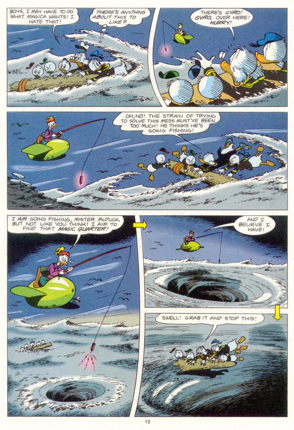 Read online Uncle Scrooge (1953) comic -  Issue #267 - 14