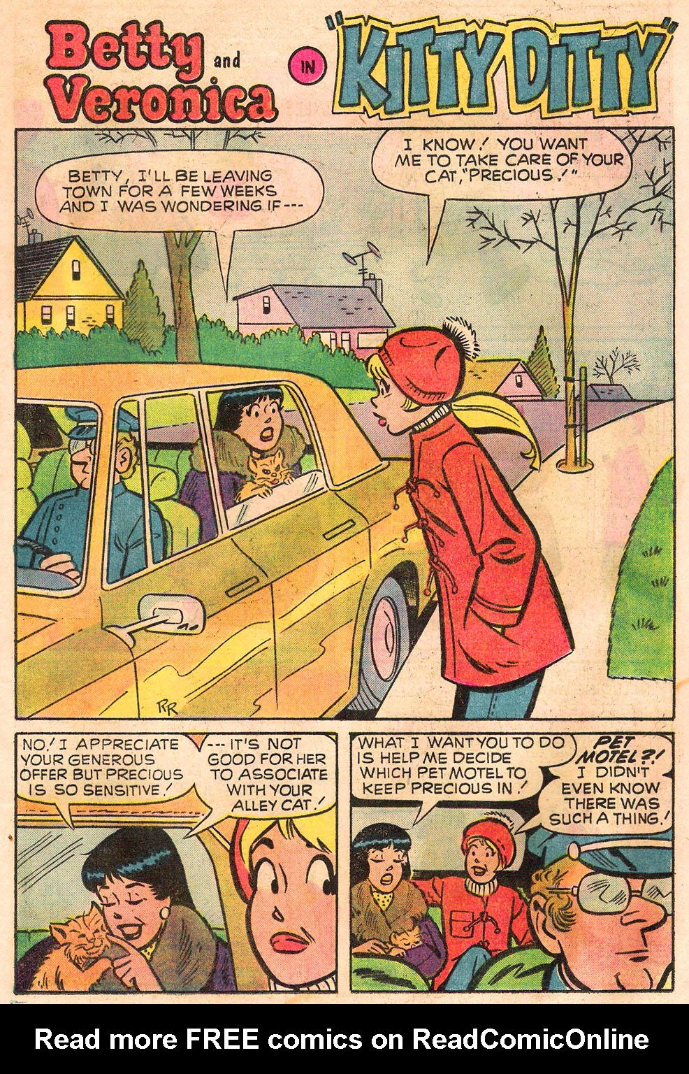 Read online Archie's Girls Betty and Veronica comic -  Issue #245 - 13