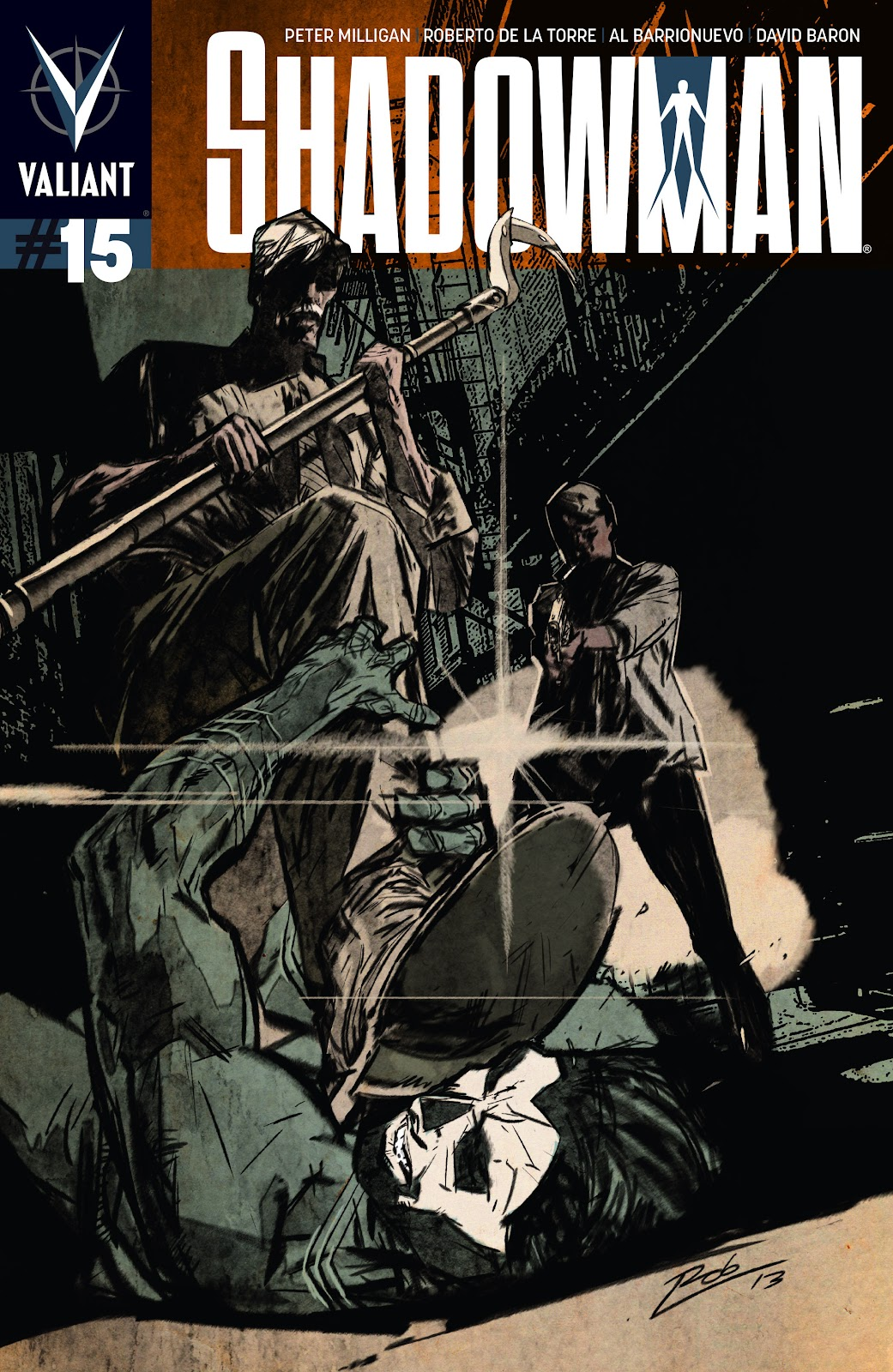 Shadowman (2012) 15 Page 1