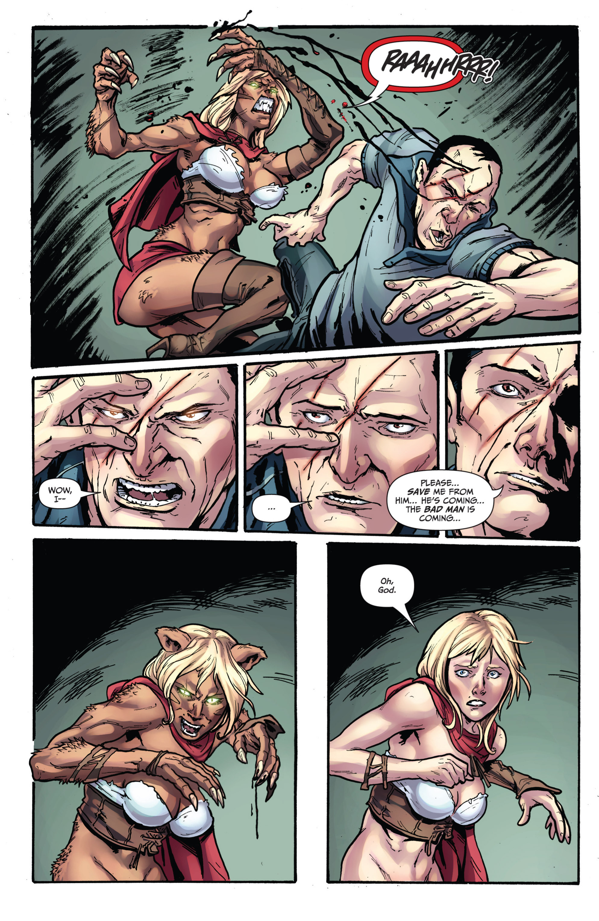 Read online Grimm Fairy Tales presents Grimm Universe comic -  Issue # TPB - 93