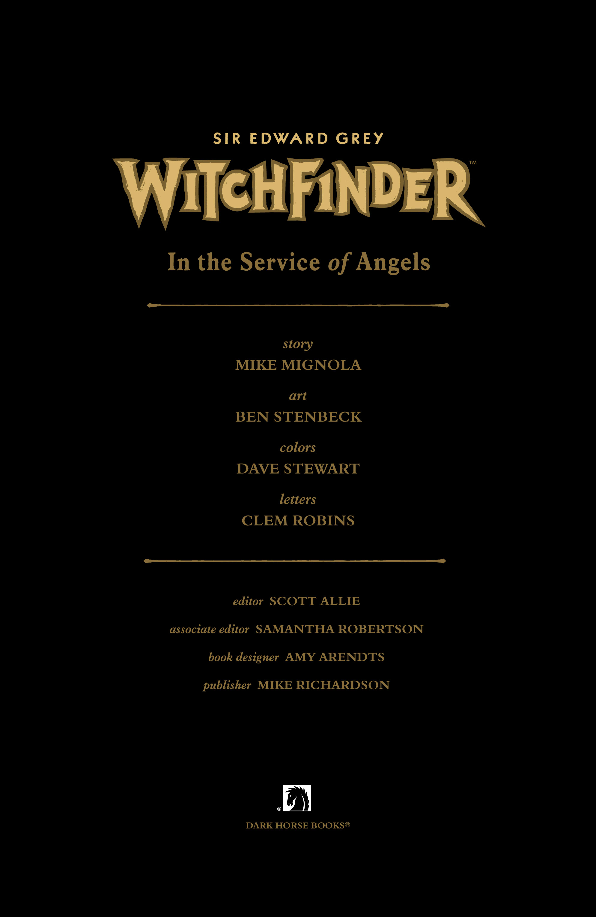 Read online Sir Edward Grey, Witchfinder: In the Service of Angels comic -  Issue # TPB - 4