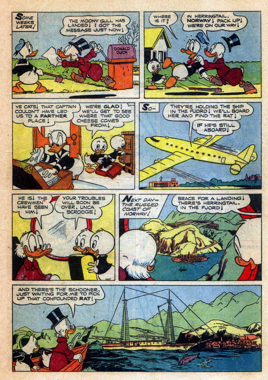 Read online Uncle Scrooge (1953) comic -  Issue #9 - 9