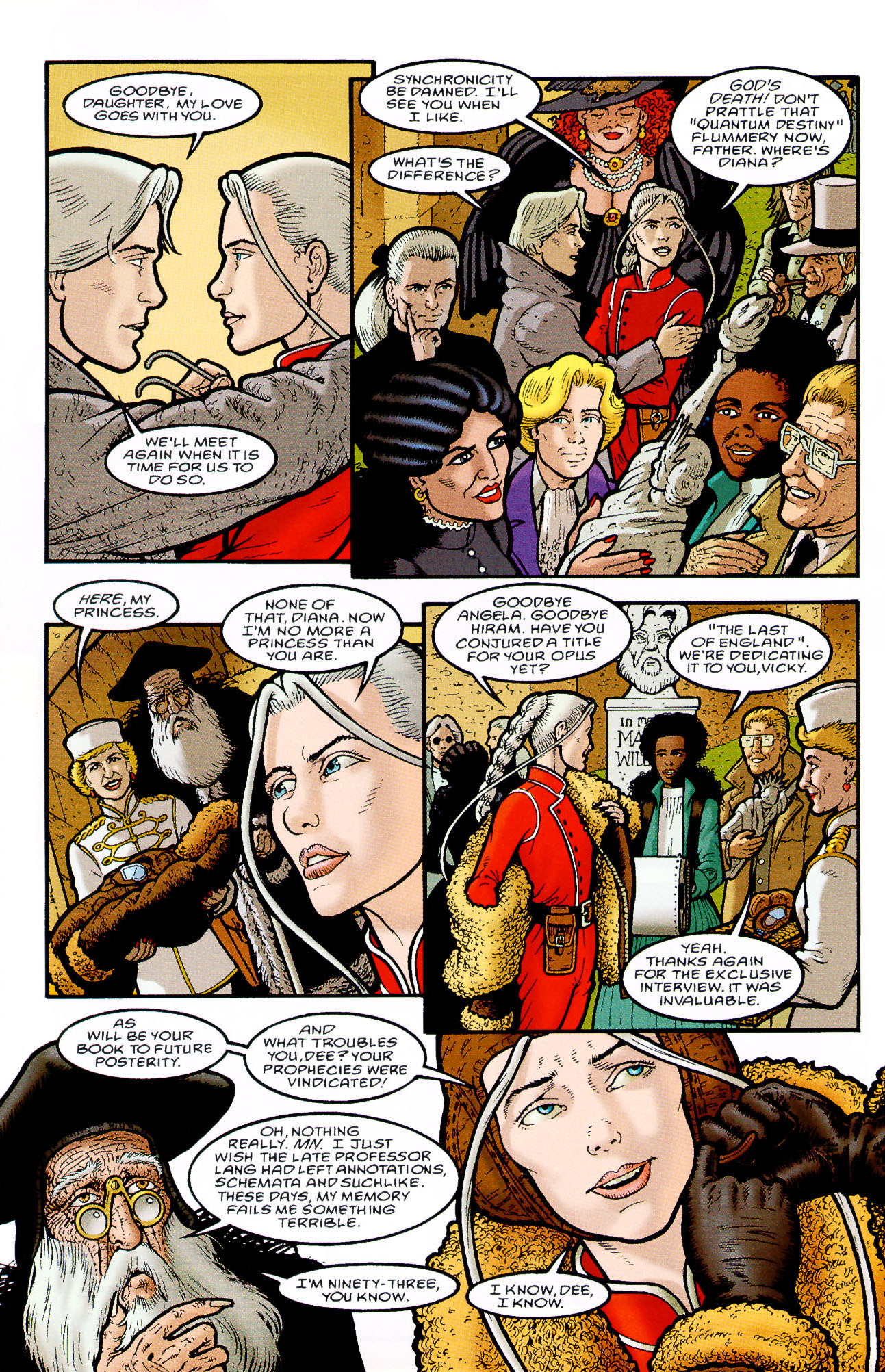 Read online Heart of Empire comic -  Issue #9 - 32