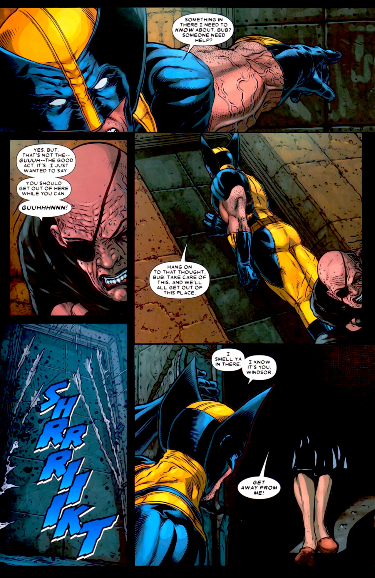 Read online Wolverine: The Best There Is comic -  Issue #2 - 21
