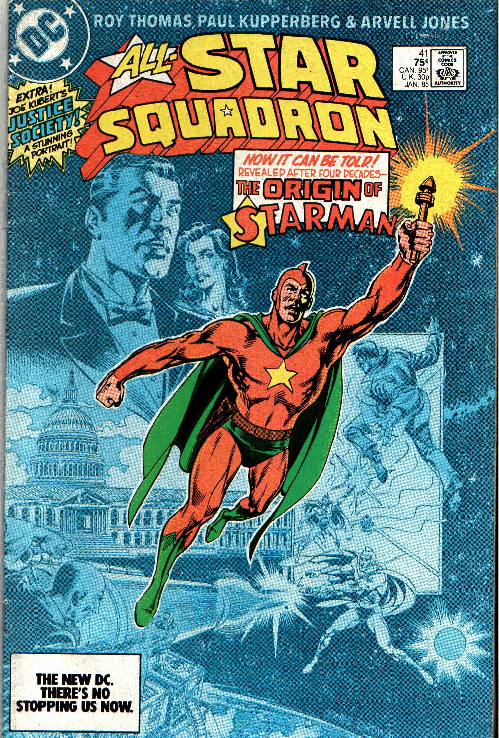 Read online All-Star Squadron comic -  Issue #41 - 1