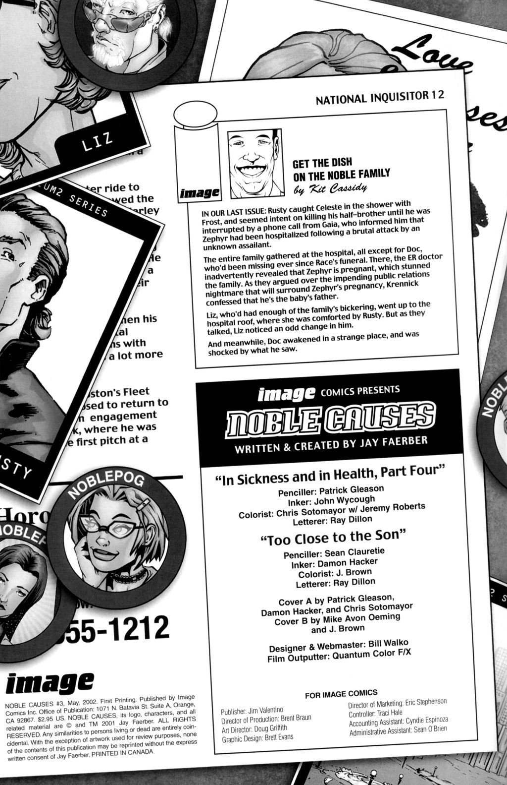 Read online Noble Causes (2002) comic -  Issue #4 - 2