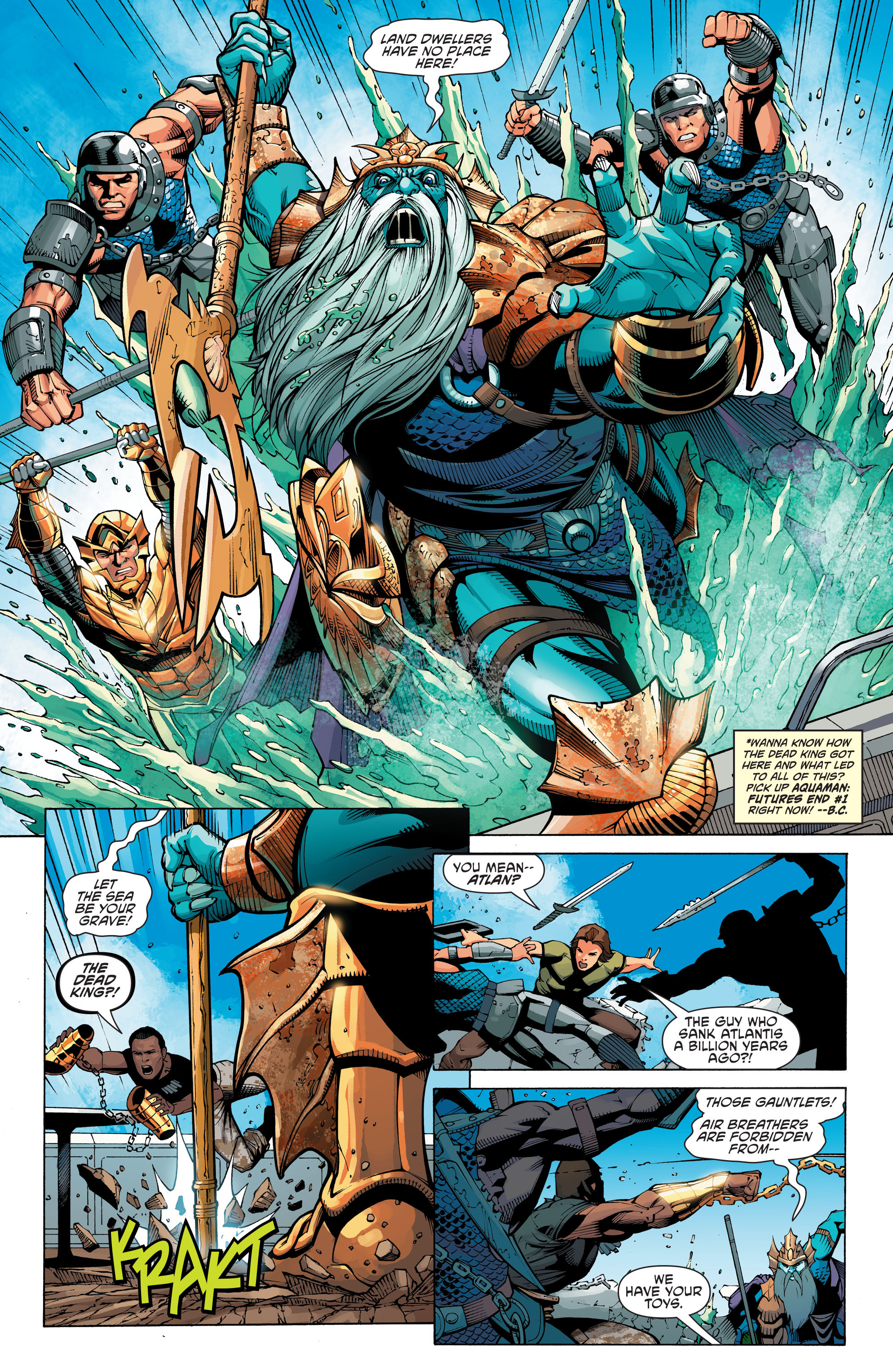 Read online Aquaman and the Others: Futures End comic -  Issue #Aquaman and the Others: Futures End Full - 3