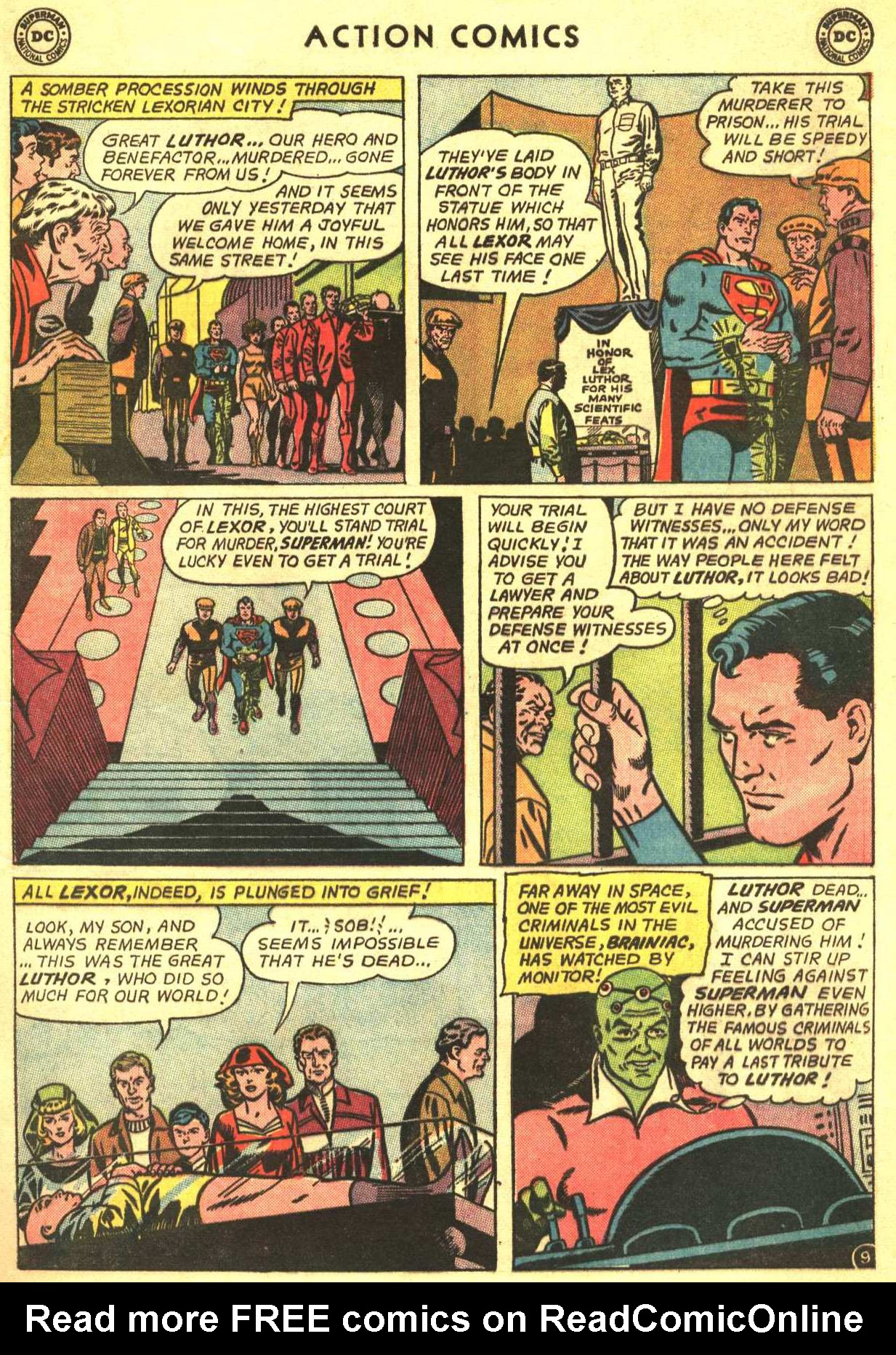 Read online Action Comics (1938) comic -  Issue #318 - 11
