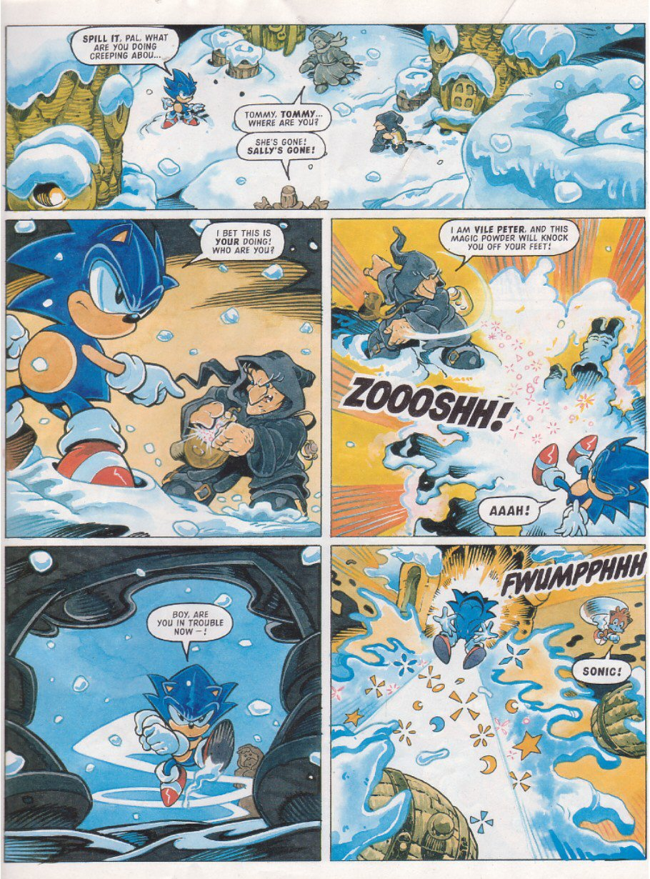 Read online Sonic the Comic comic -  Issue #119 - 5