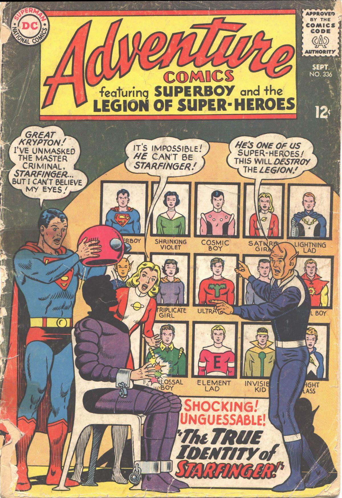 Read online Adventure Comics (1938) comic -  Issue #336 - 2