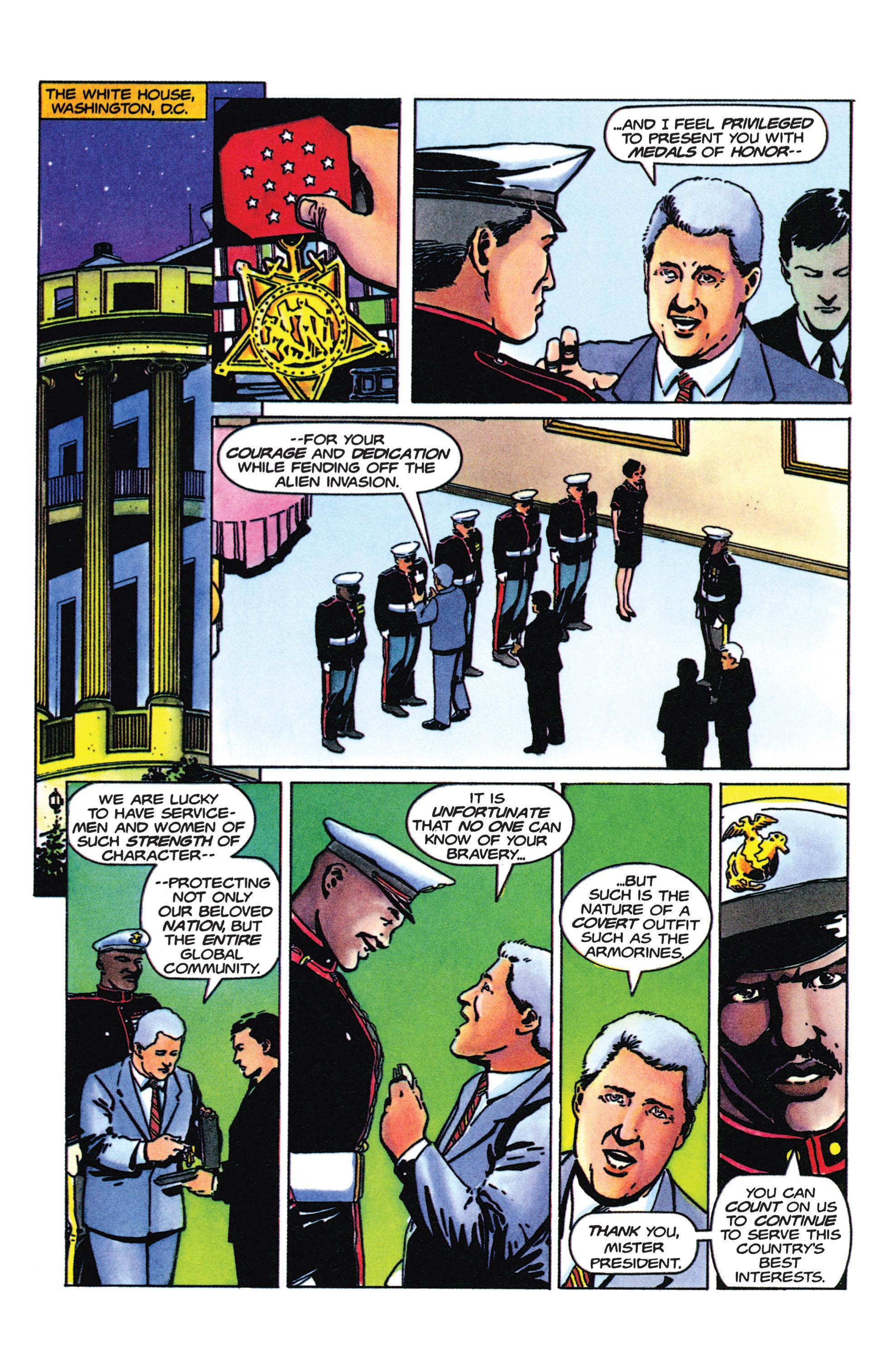Read online Armorines comic -  Issue #9 - 6