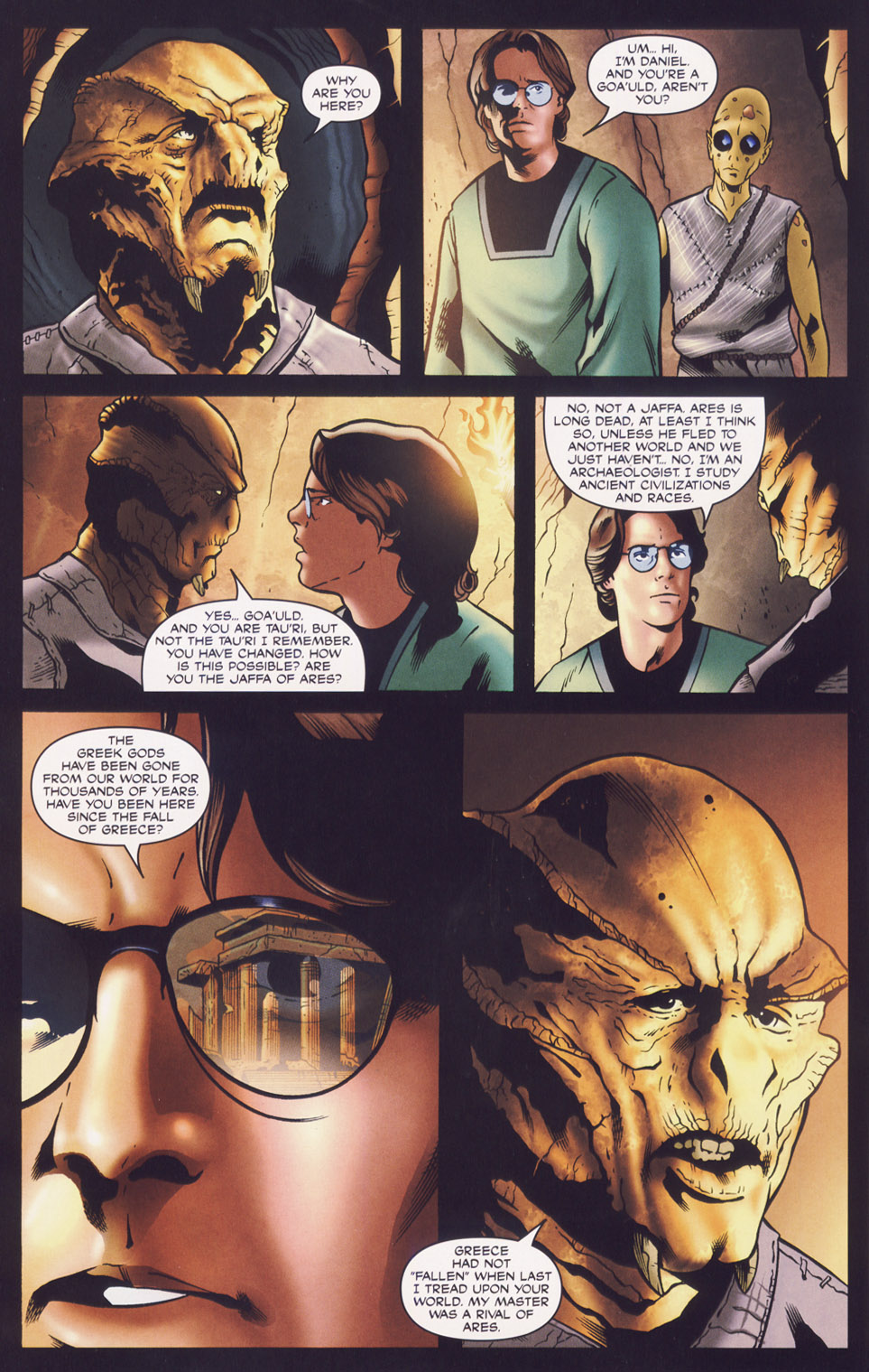 Read online Stargate SG-1: Fall of Rome comic -  Issue #3 - 12
