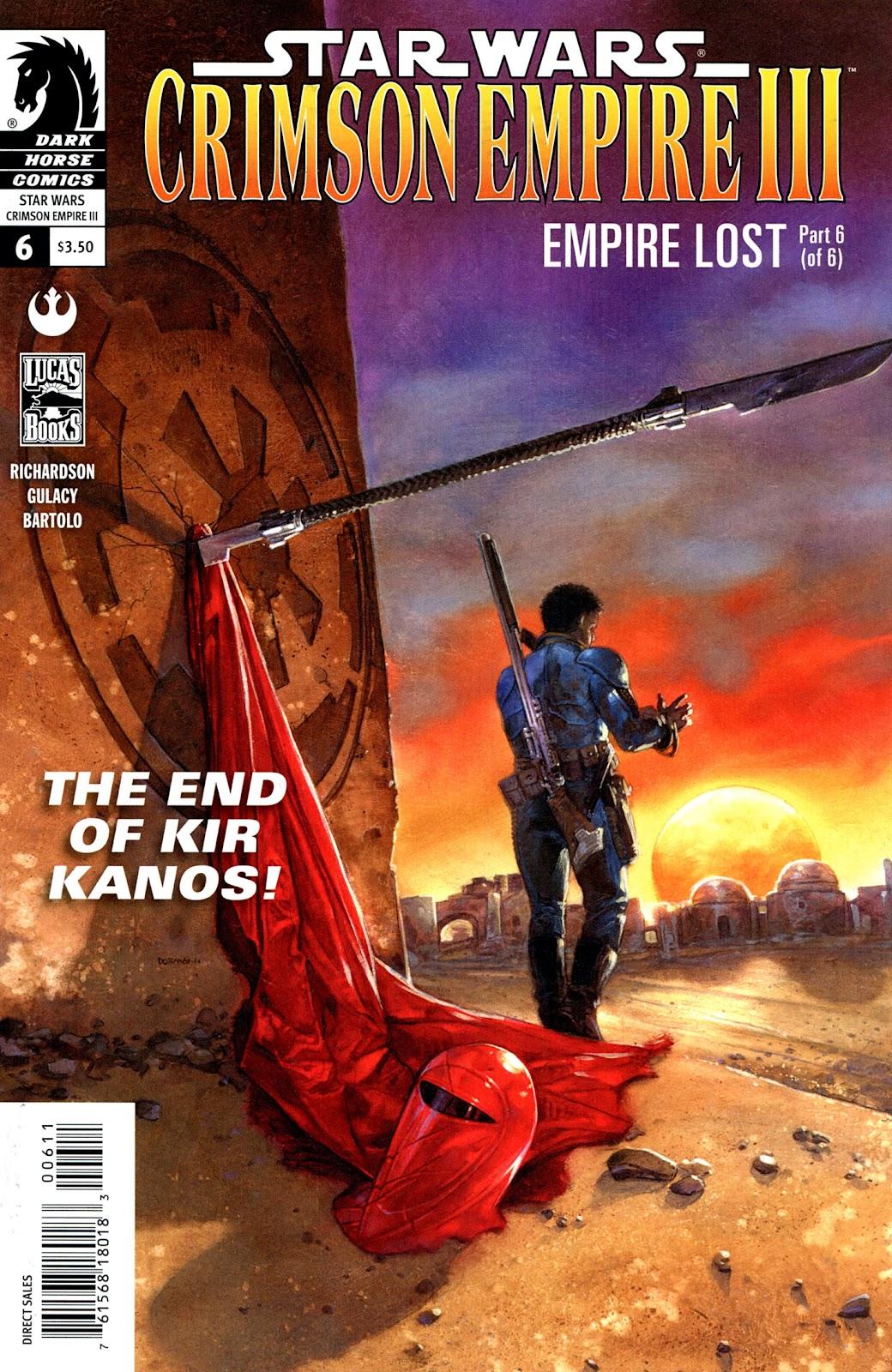 Star Wars: Crimson Empire III - Empire Lost 6 Page 1