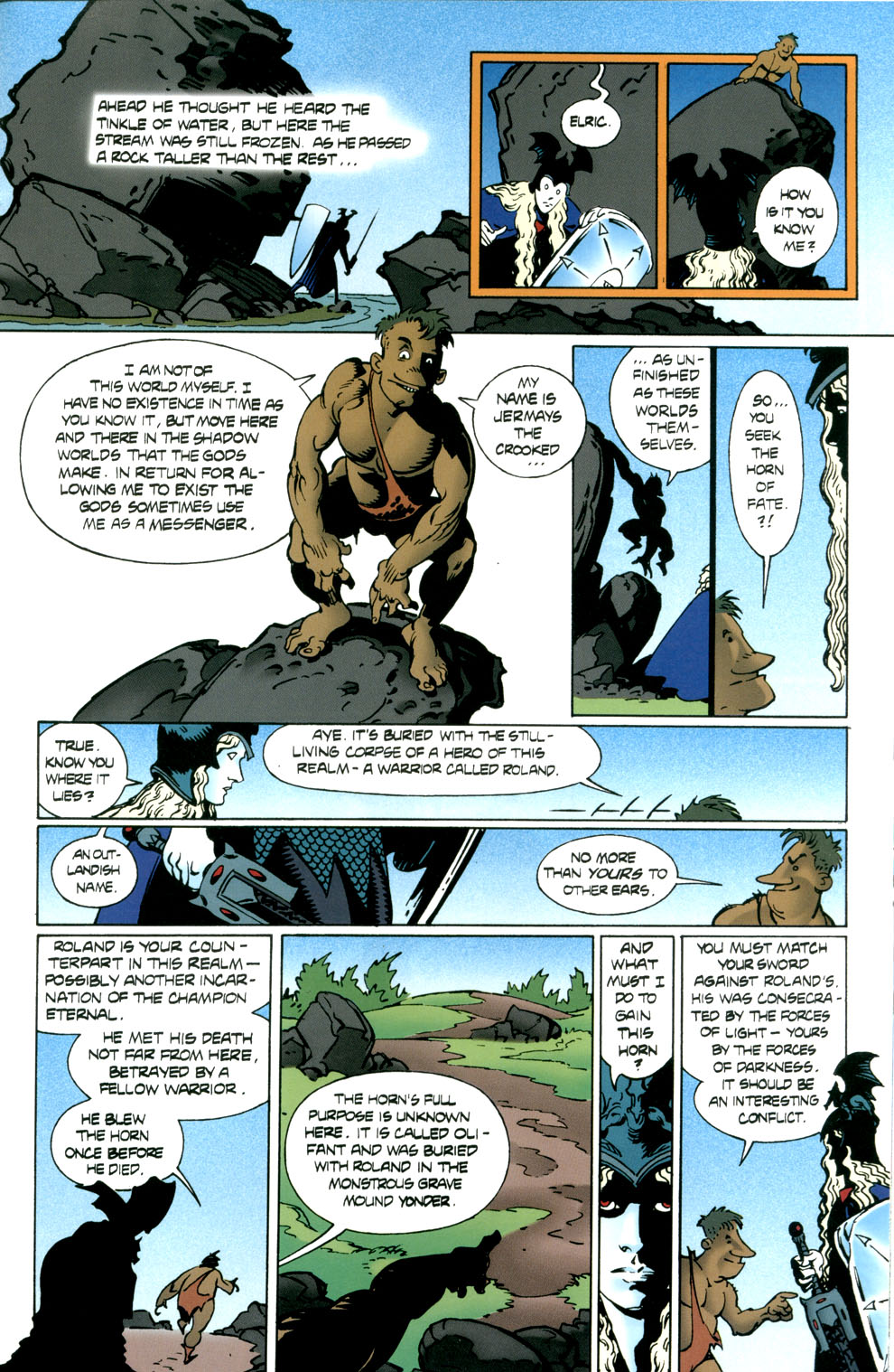 Read online Elric: Stormbringer comic -  Issue #6 - 15