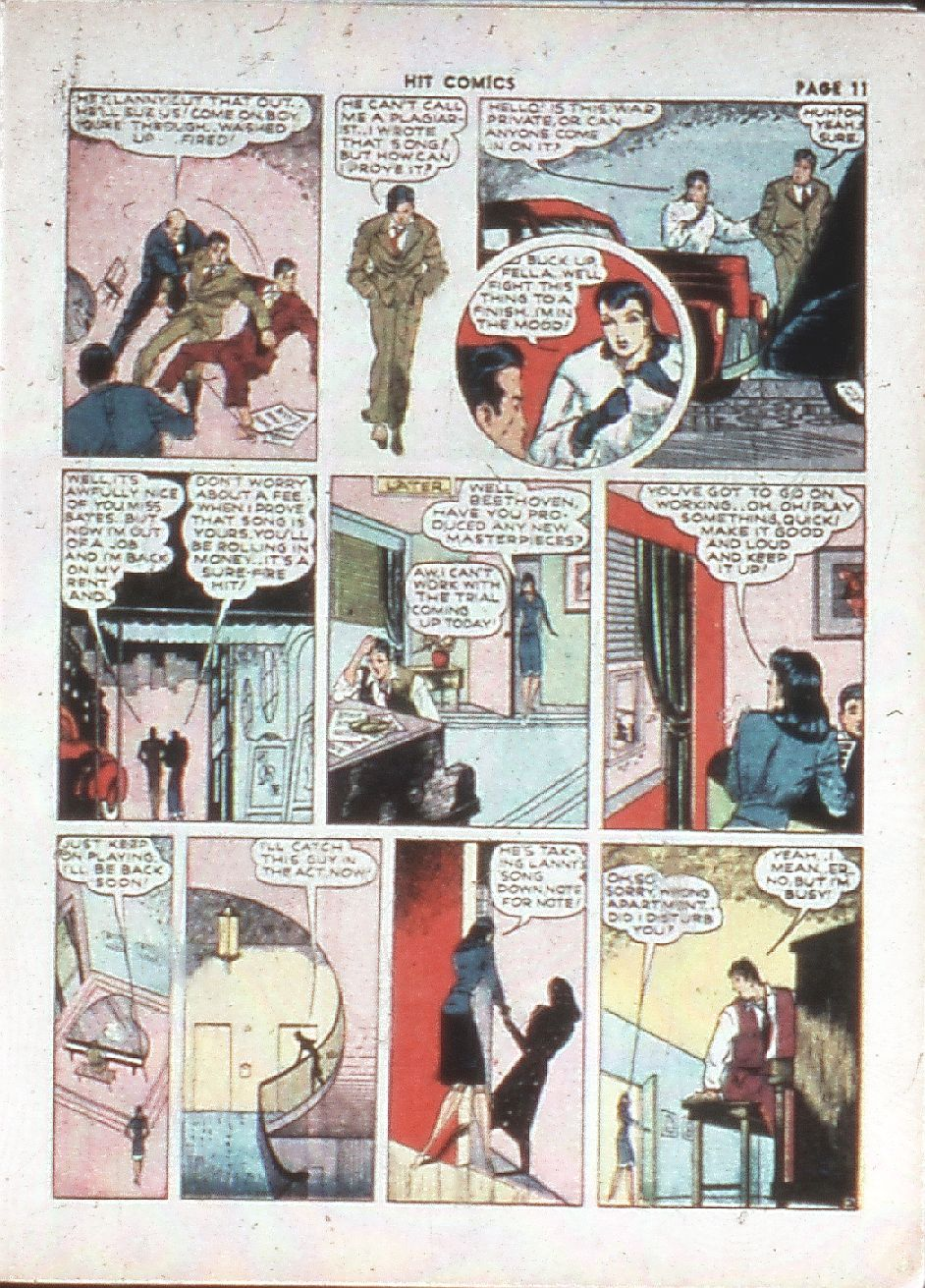 Read online Hit Comics comic -  Issue #10 - 13
