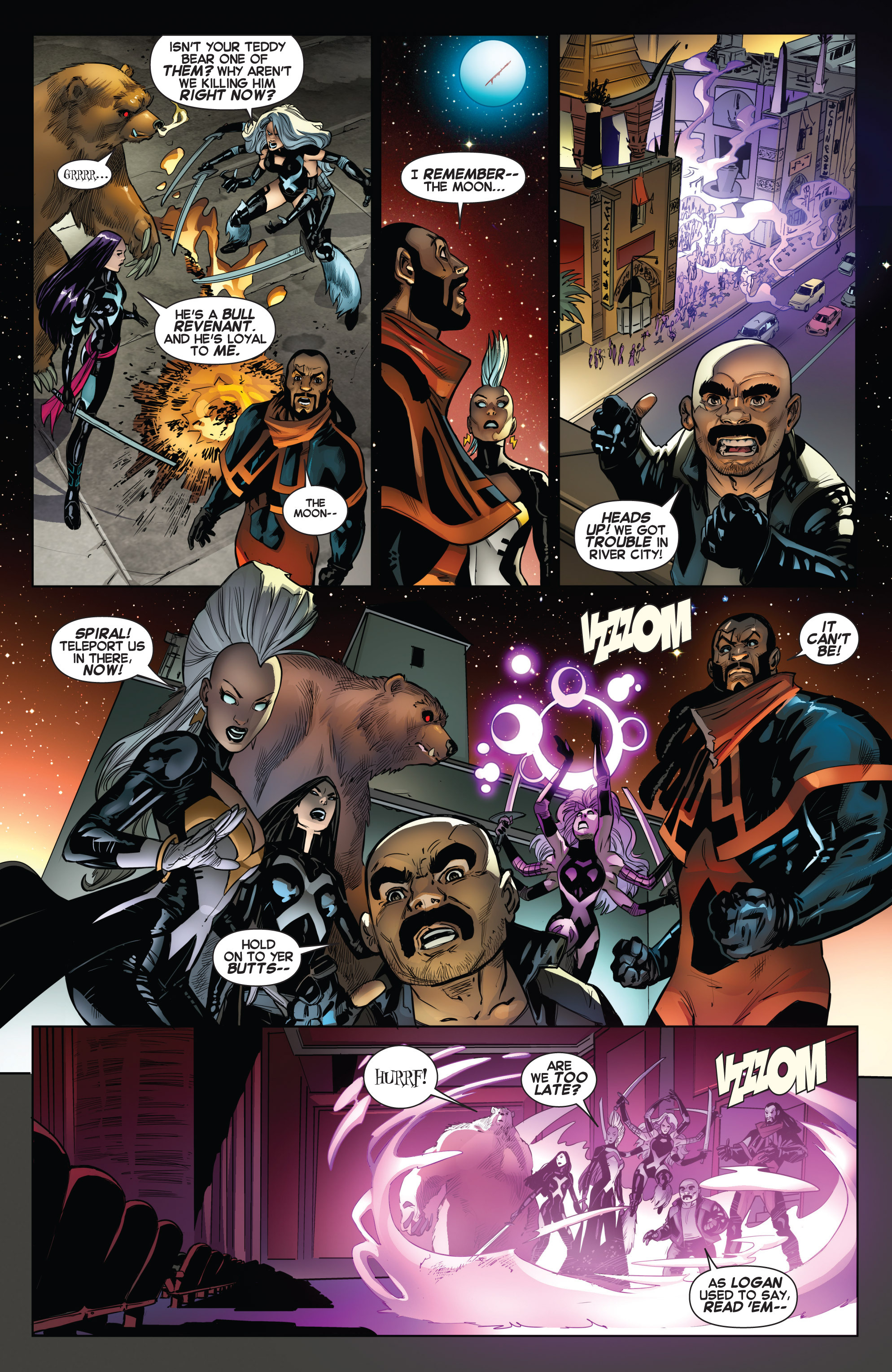Read online Uncanny X-Force (2013) comic -  Issue #13 - 14