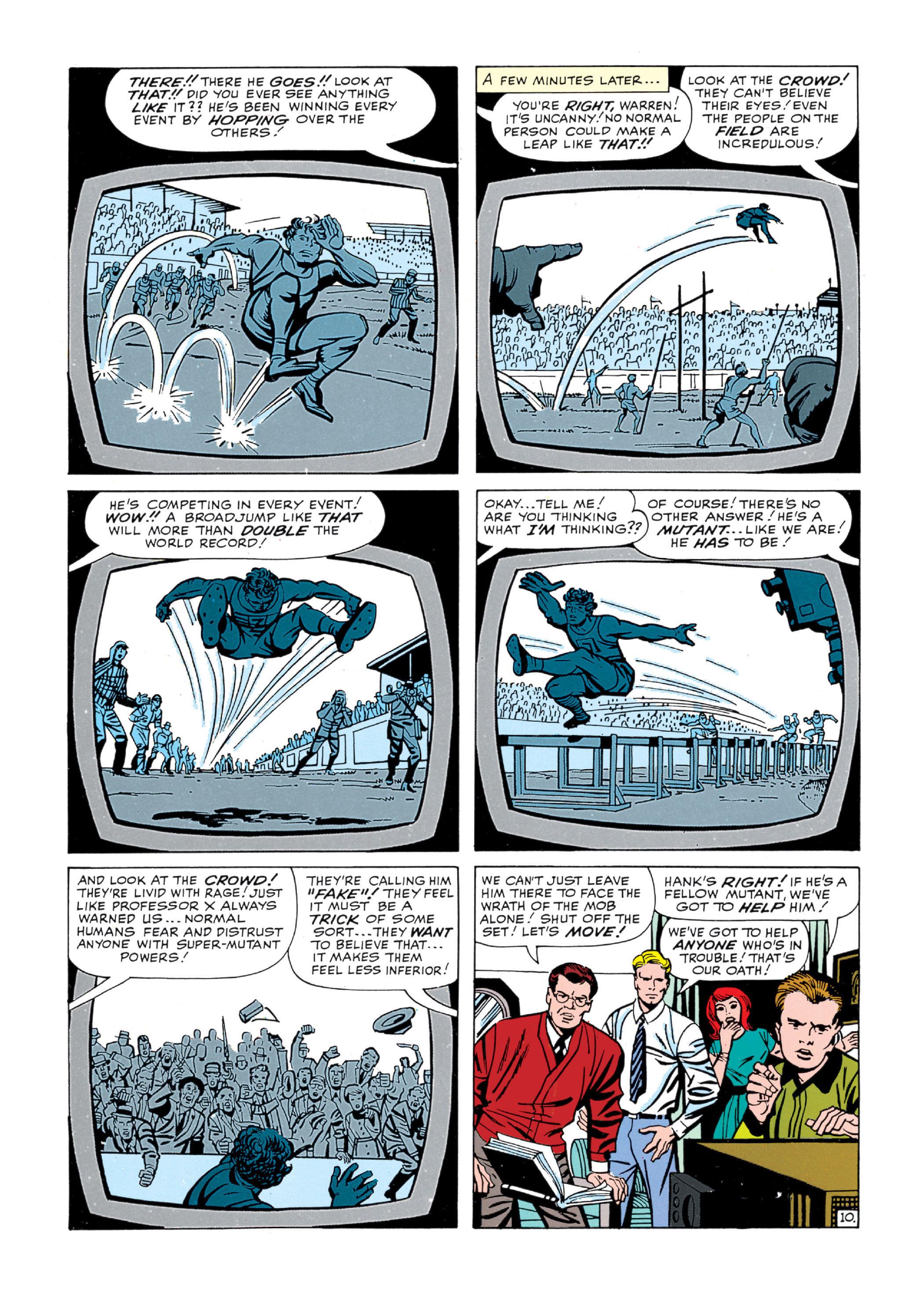 Read online Uncanny X-Men (1963) comic -  Issue #5 - 11