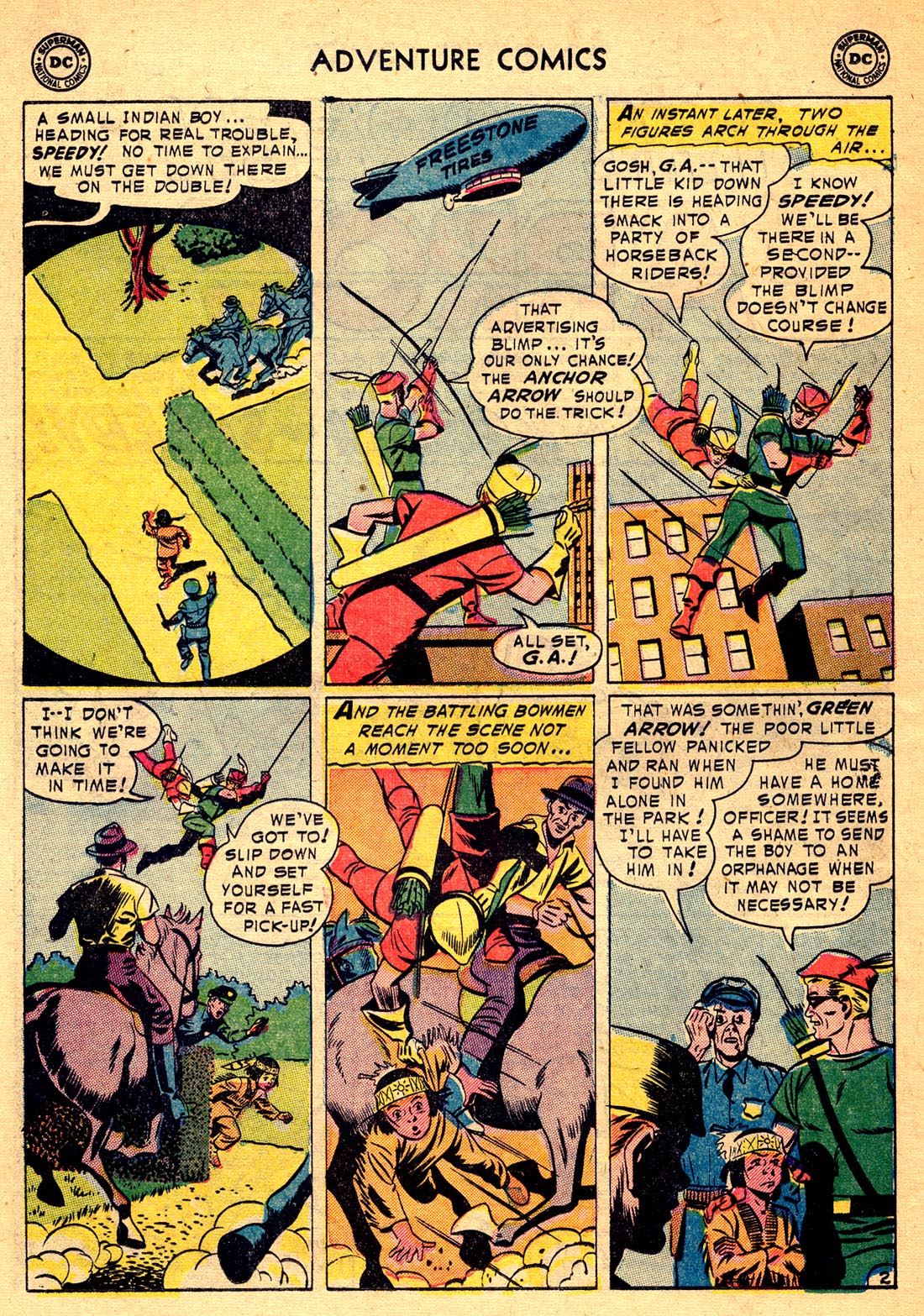 Read online Adventure Comics (1938) comic -  Issue #209 - 26
