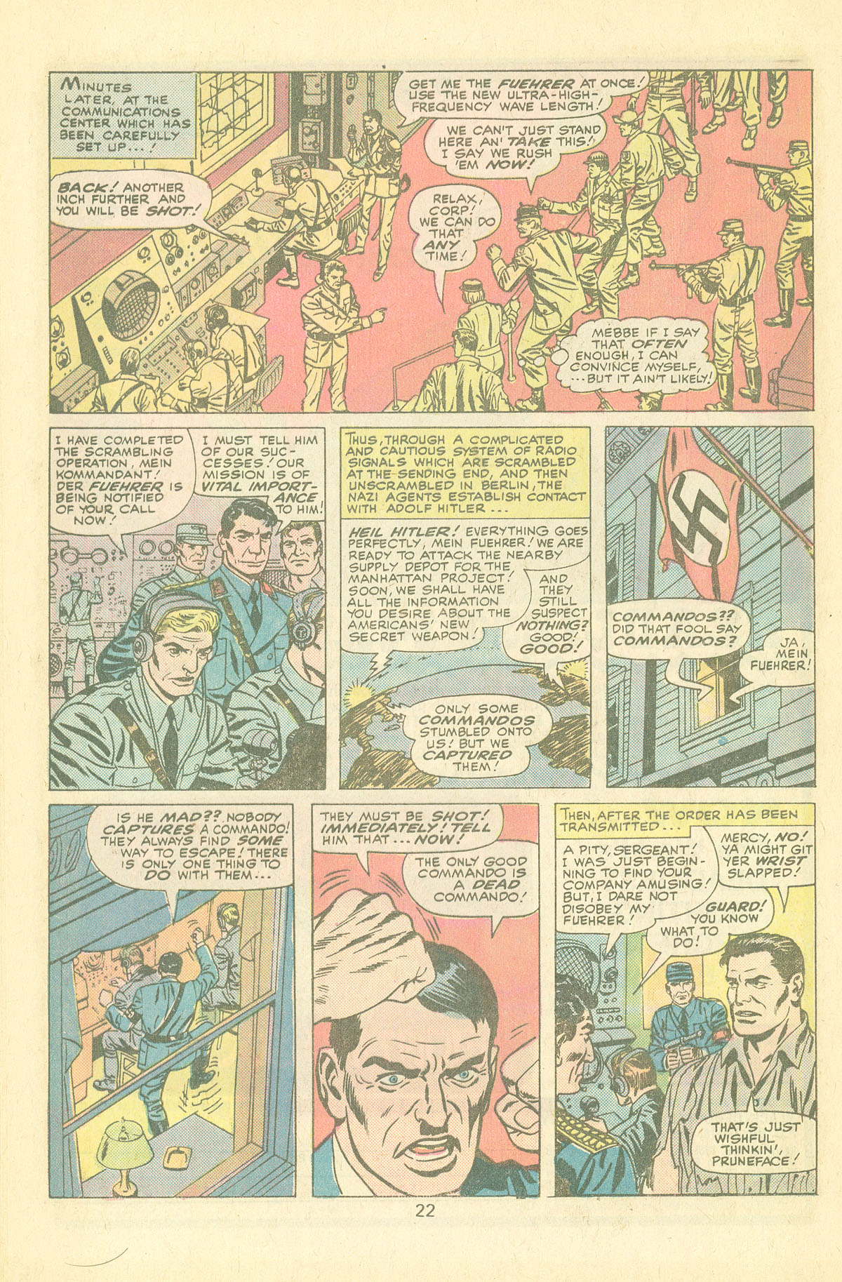 Read online Sgt. Fury comic -  Issue #126 - 24