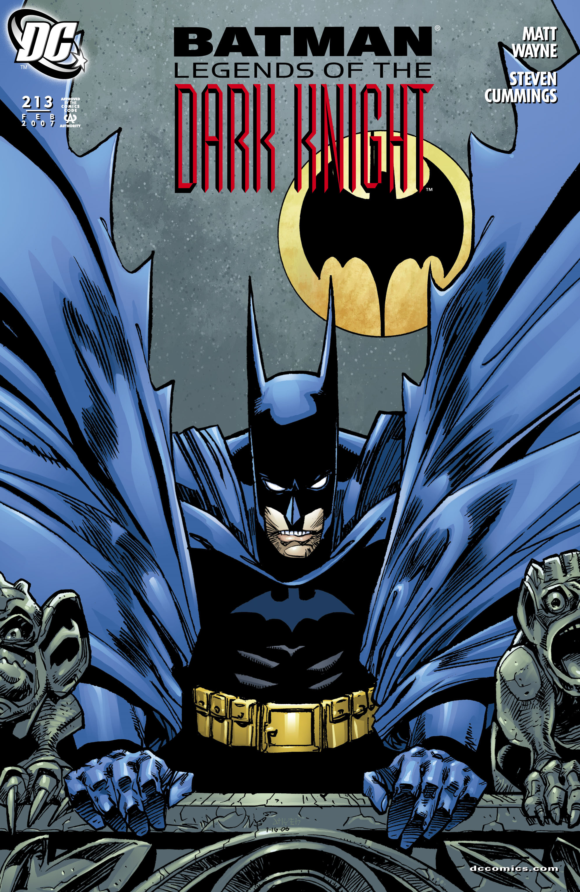 Batman: Legends of the Dark Knight 213 Page 1