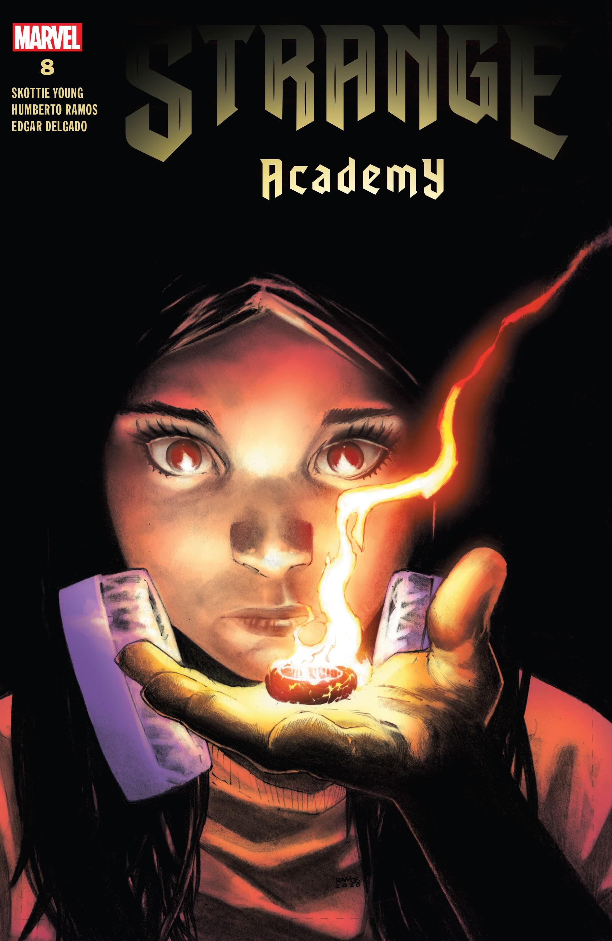 Strange Academy 8 Page 1