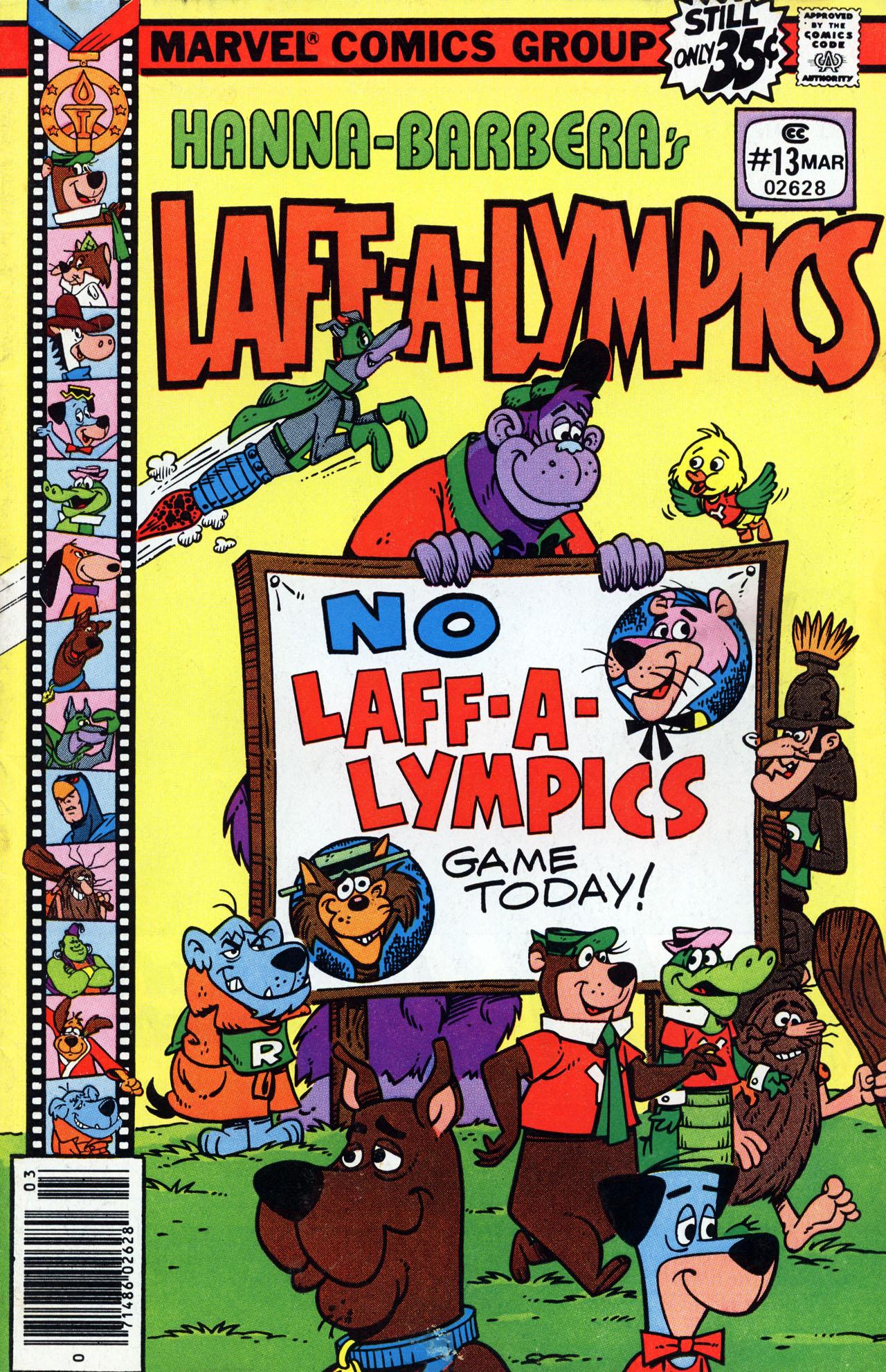 Laff-a-lympics 13 Page 1
