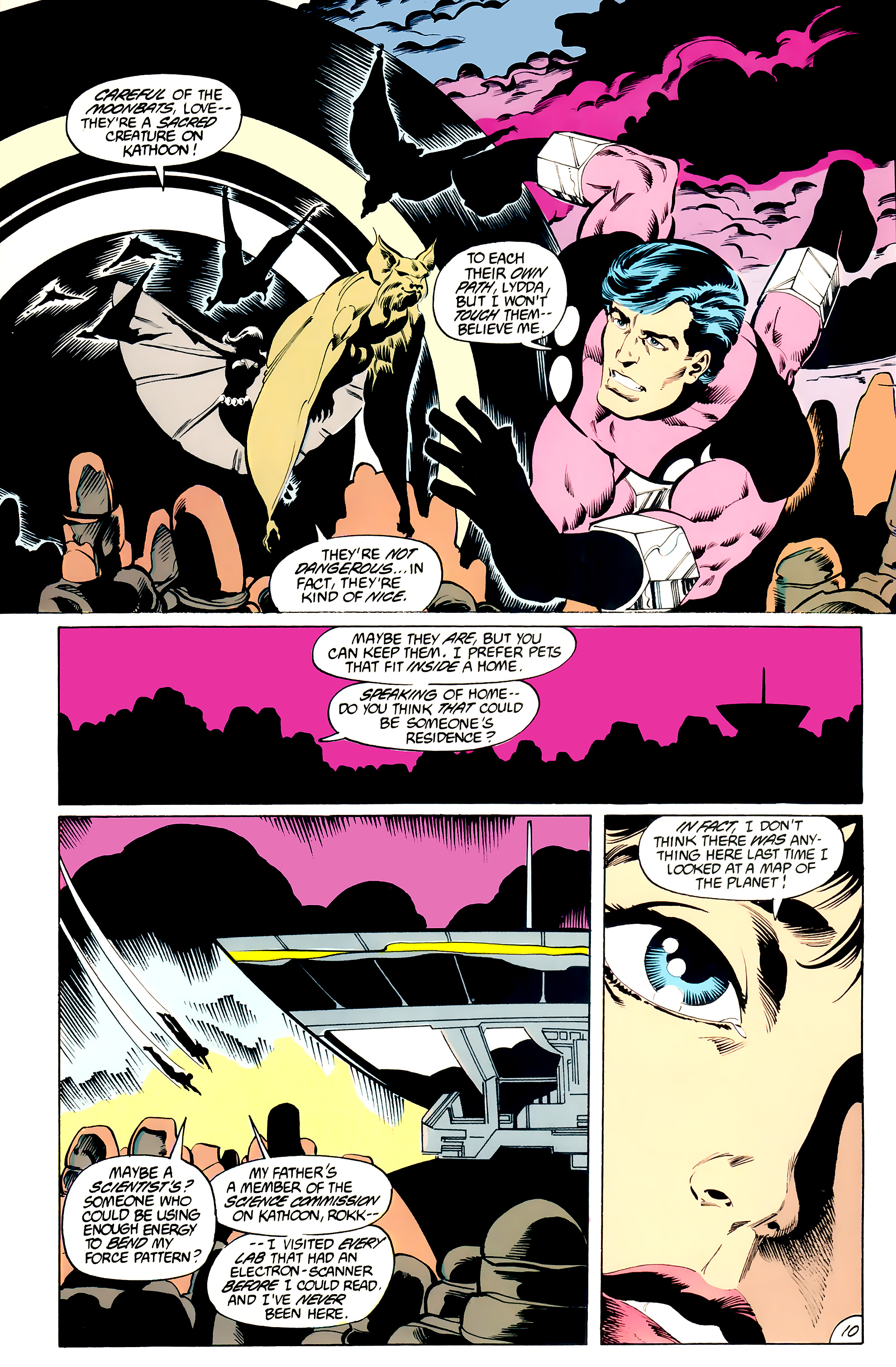 Legion of Super-Heroes (1984) _Annual_3 Page 10