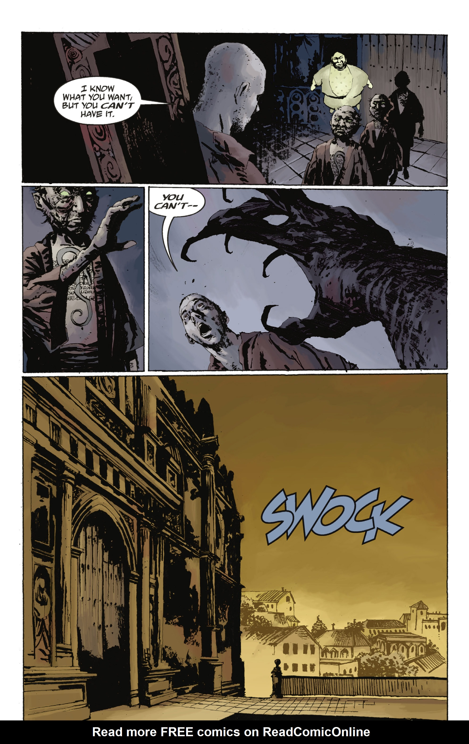 Read online Abe Sapien: The Drowning comic -  Issue #Abe Sapien: The Drowning _TPB - 57