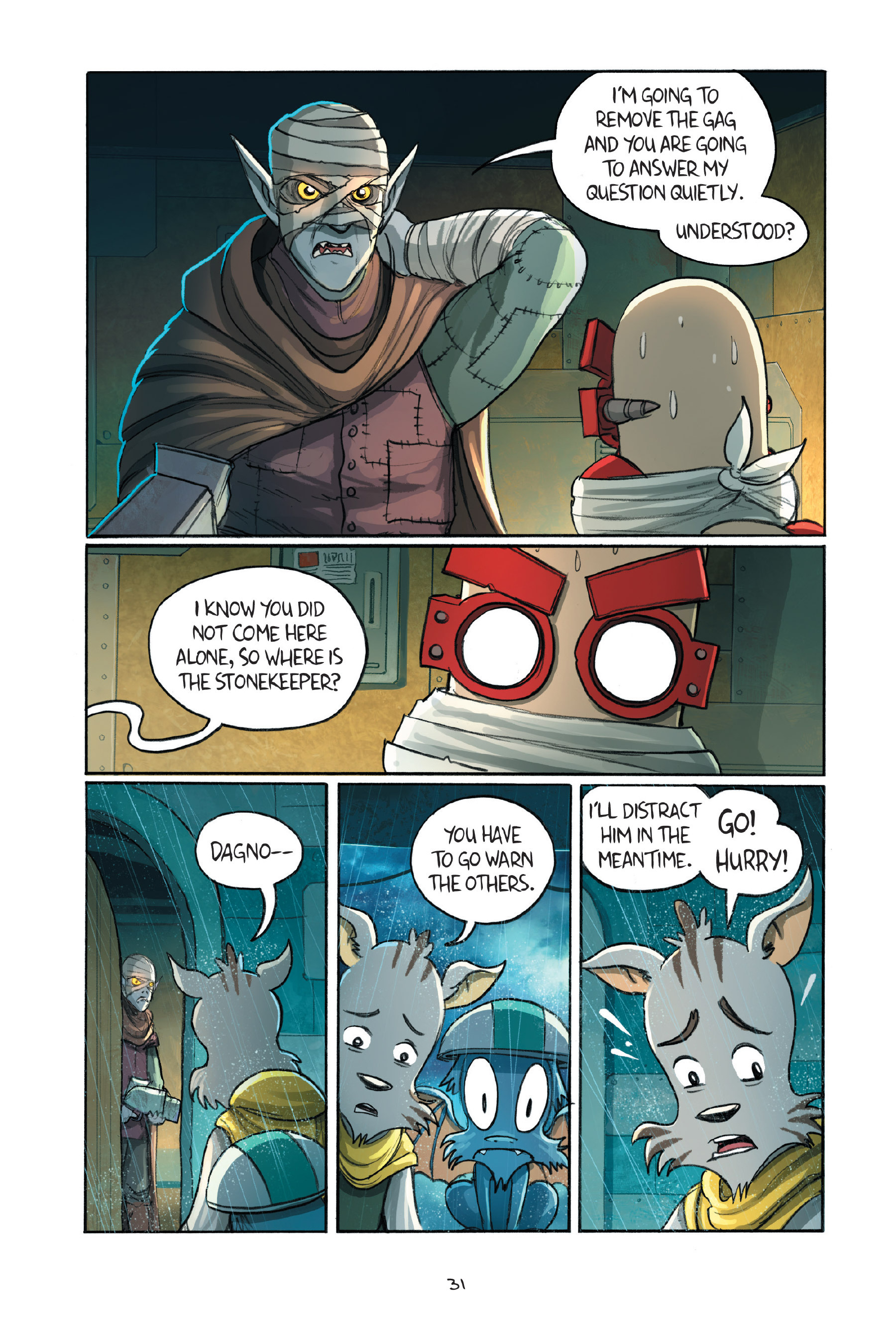 Read online Amulet comic -  Issue #7 - 34
