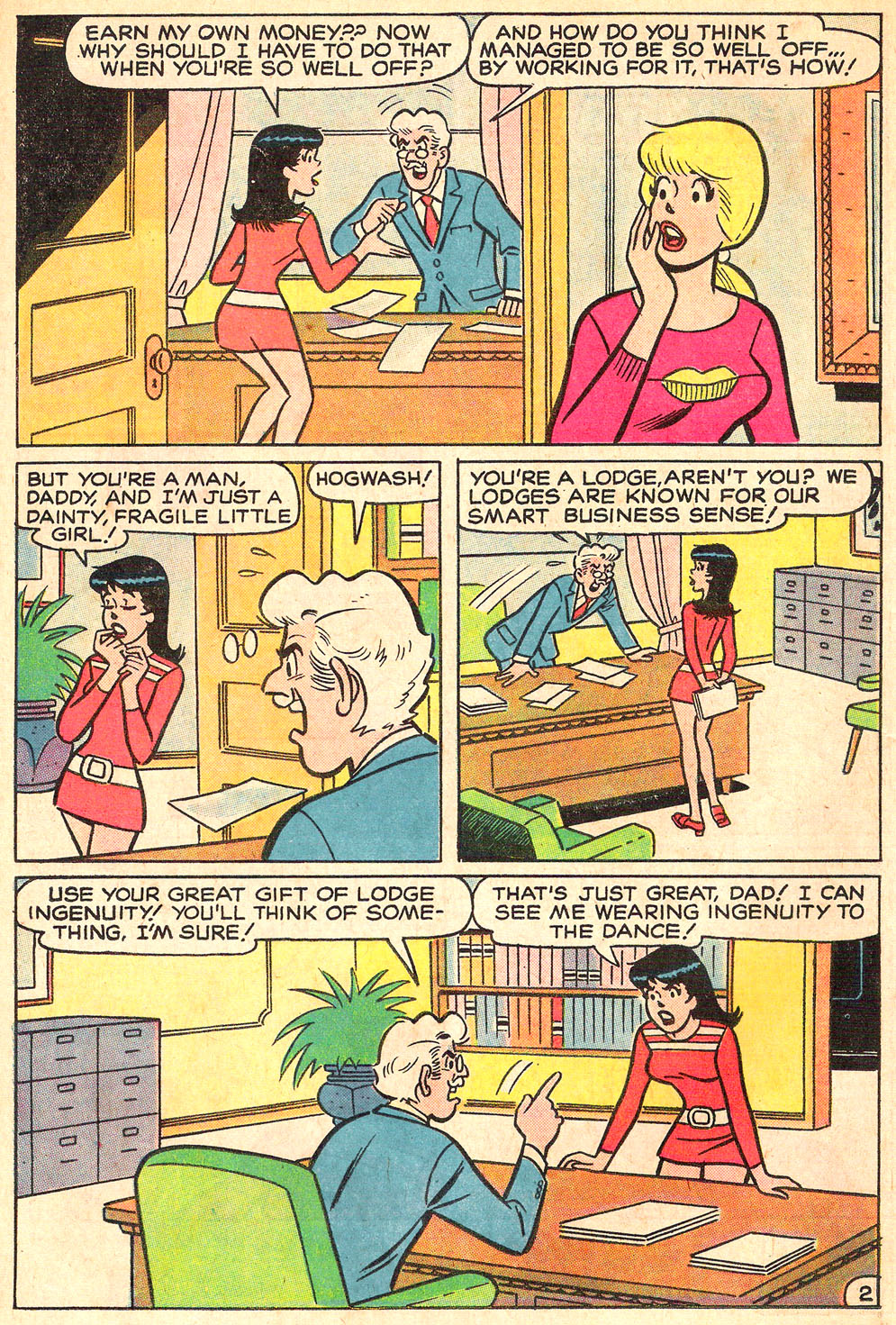 Read online Archie's Girls Betty and Veronica comic -  Issue #195 - 14