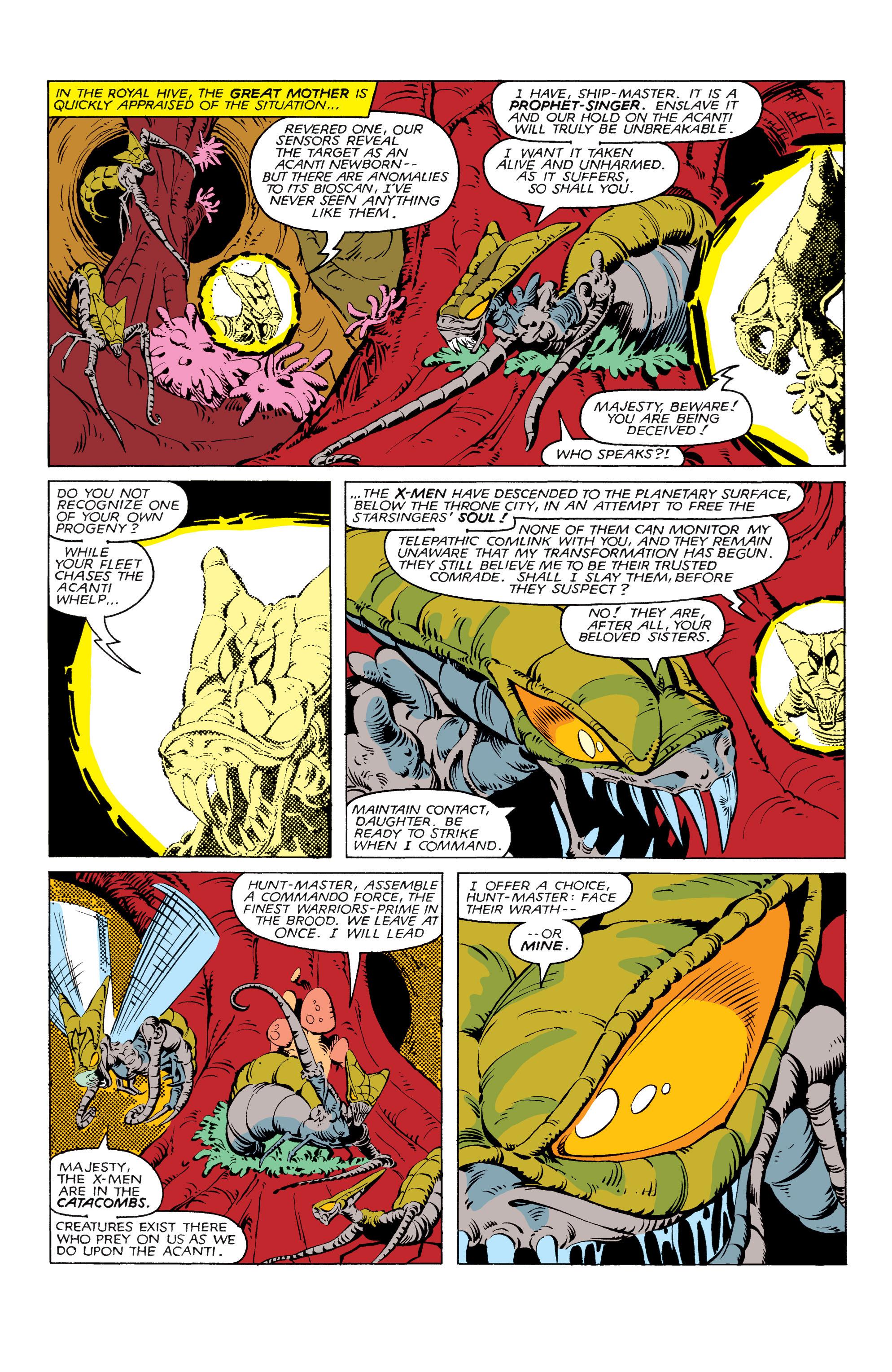 Read online Uncanny X-Men (1963) comic -  Issue #166 - 16