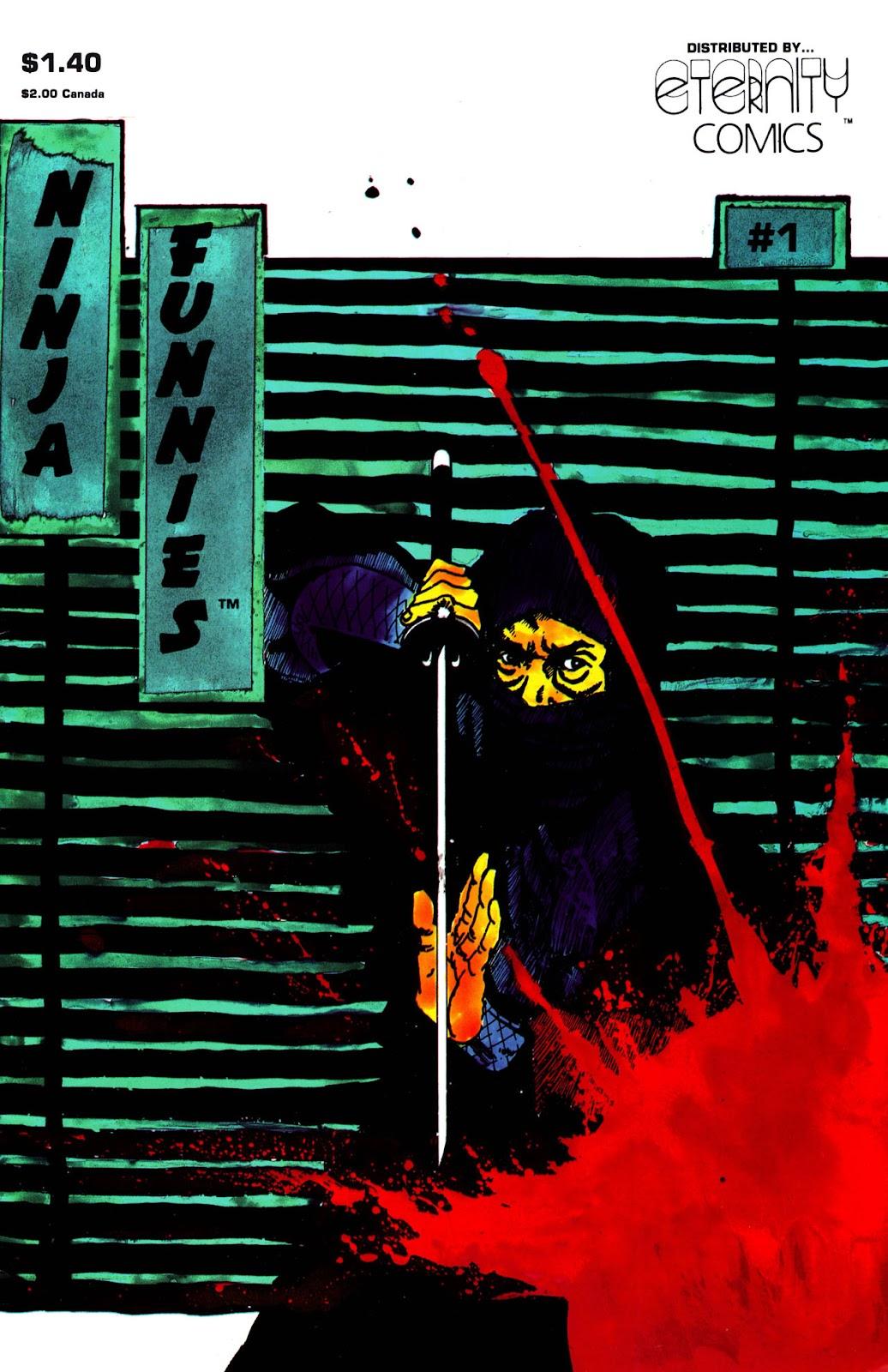 Ninja Funnies issue 1 - Page 1