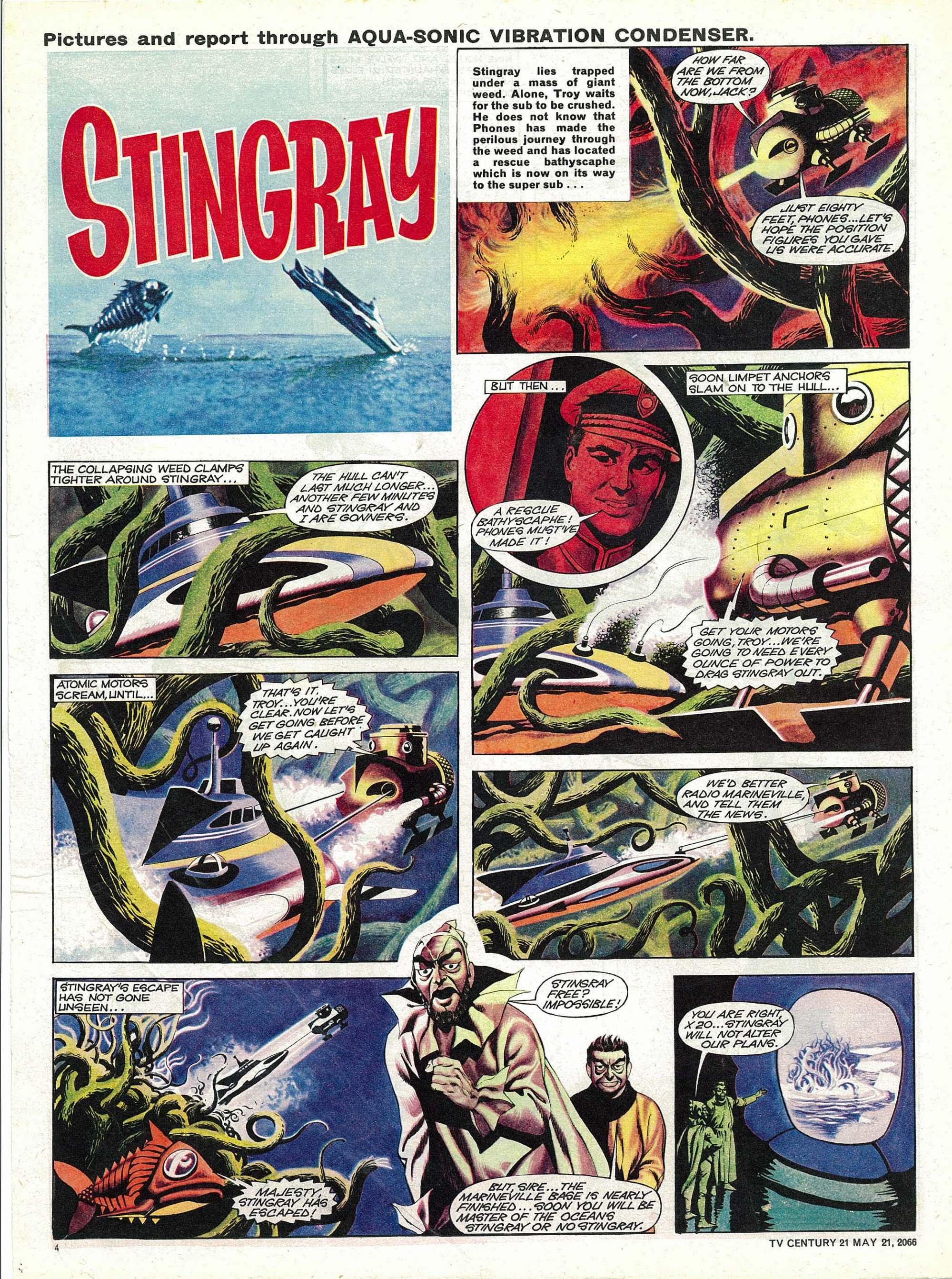Read online TV Century 21 (TV 21) comic -  Issue #70 - 4