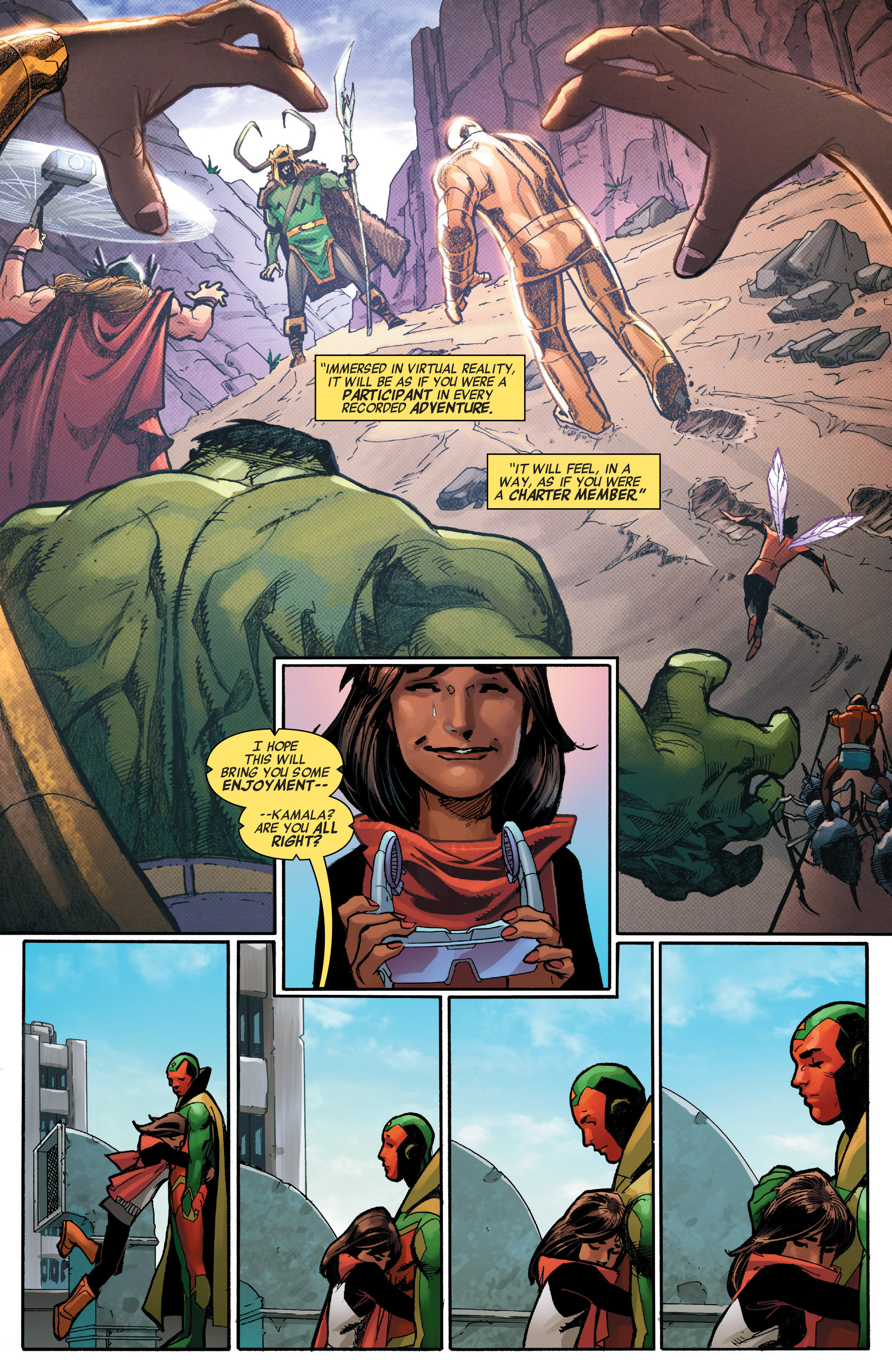 Read online All-New, All-Different Avengers comic -  Issue #7 - 8