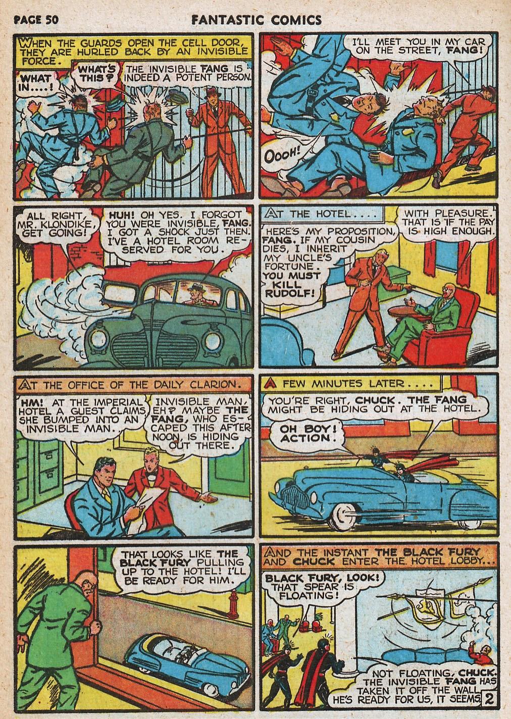 Read online Fantastic Comics comic -  Issue #20 - 50